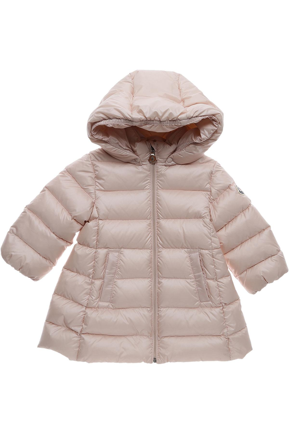 d0d77a958 Lyst - Moncler Baby Down Jacket For Girls On Sale in Pink
