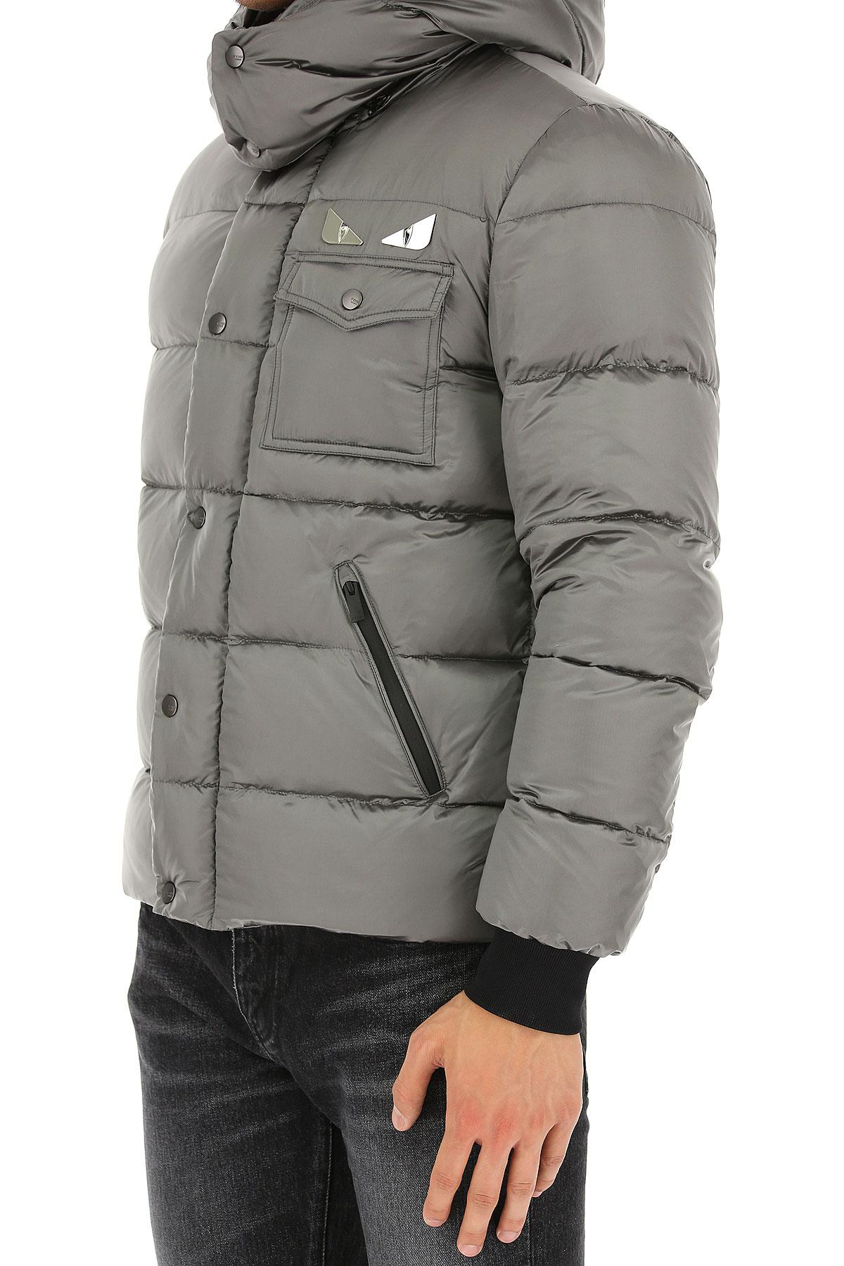 Fendi Synthetic Clothing For Men in Grey for Men