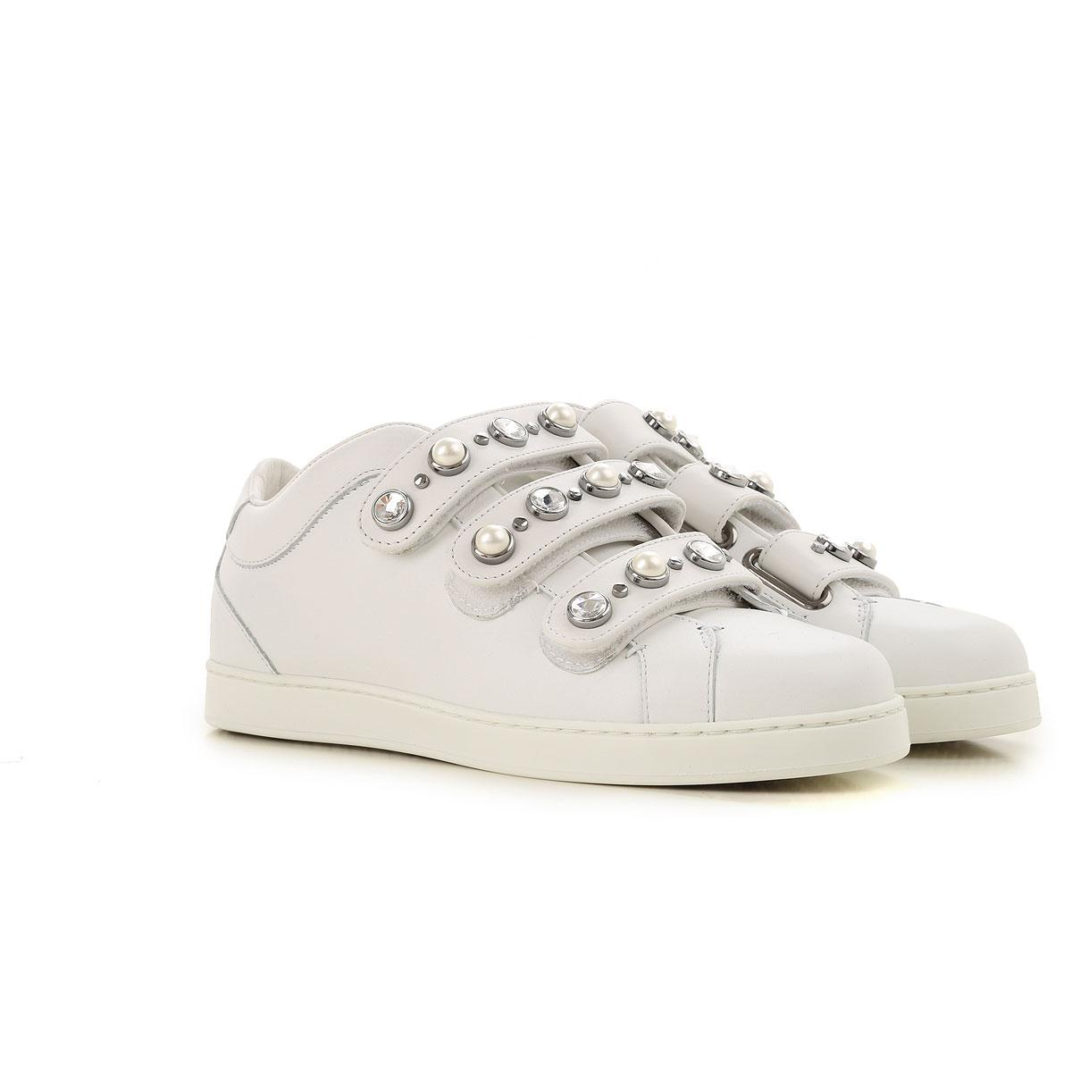 3cd1beeed7 Lyst - Jimmy Choo Sneakers For Women On Sale In Outlet in White