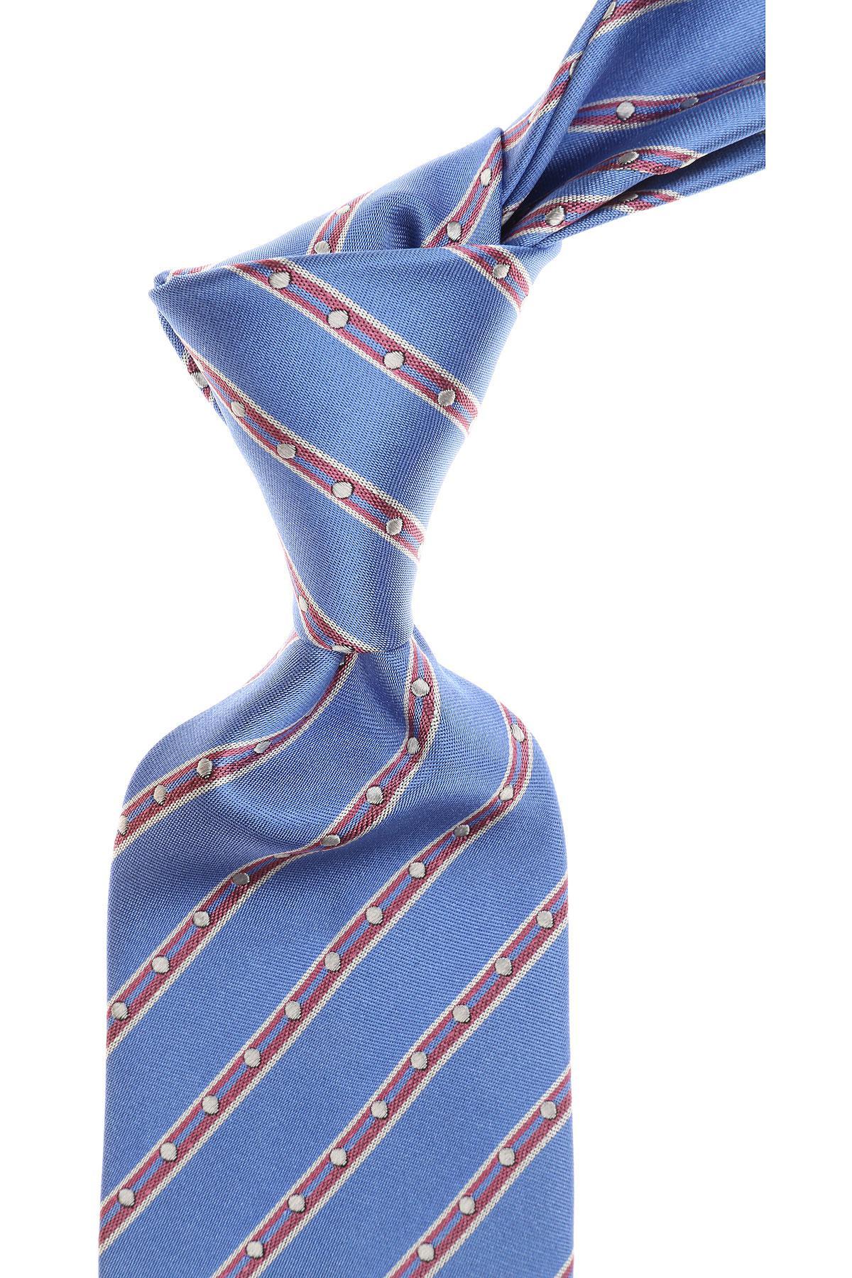lyst versace ties in blue for men