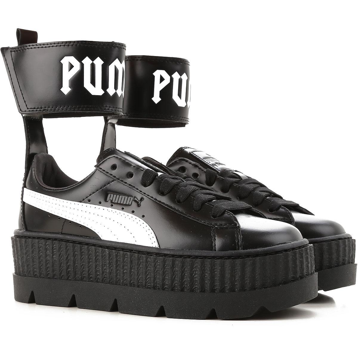 55b327cbdf64 Chaussures Femme Pas cher en Soldes Outlet PUMA en coloris Noir - Lyst
