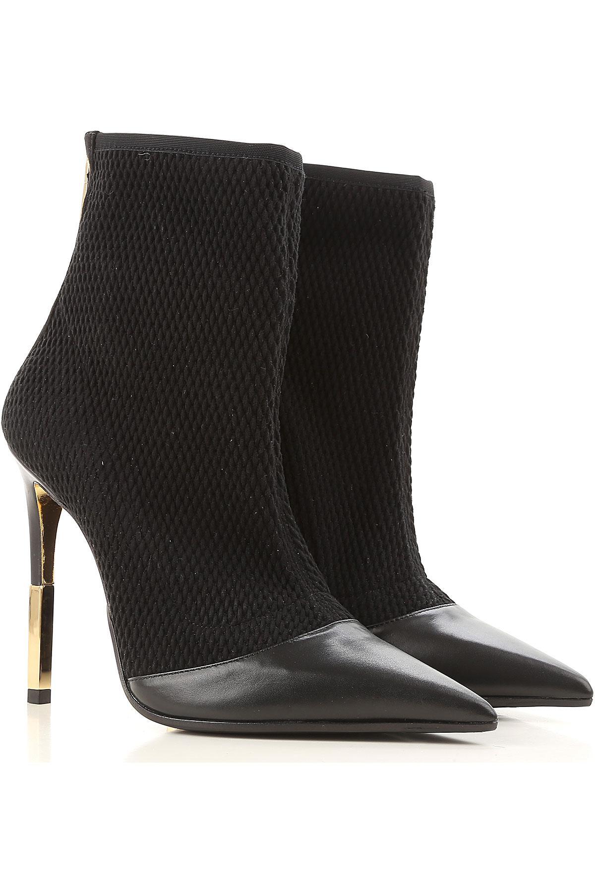 0ec8b27703 Balmain Boots For Women in Black - Lyst