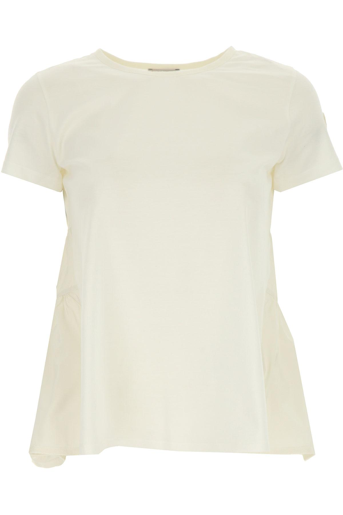 a53d2a6f Lyst - Moncler T-shirt For Women in White