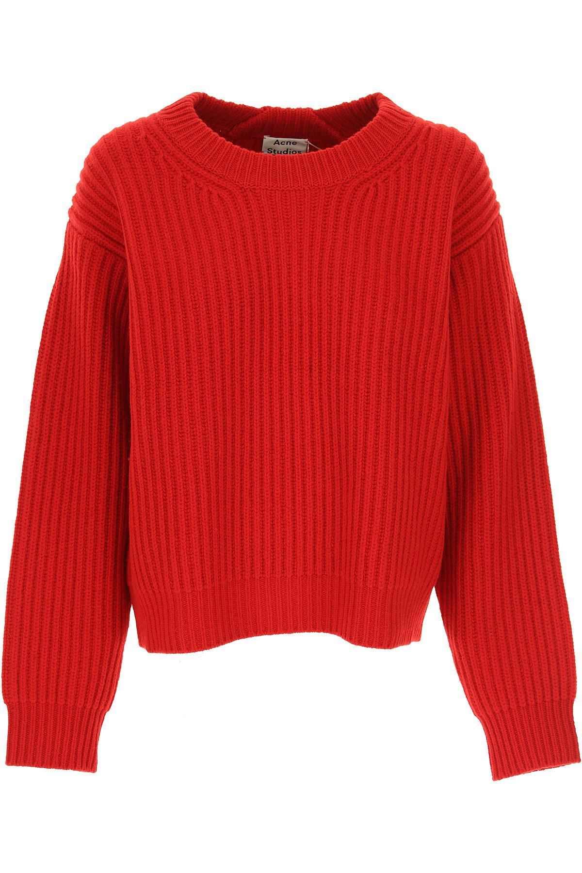 bc9560193c Acne Studios Sweater For Women Jumper in Red - Lyst