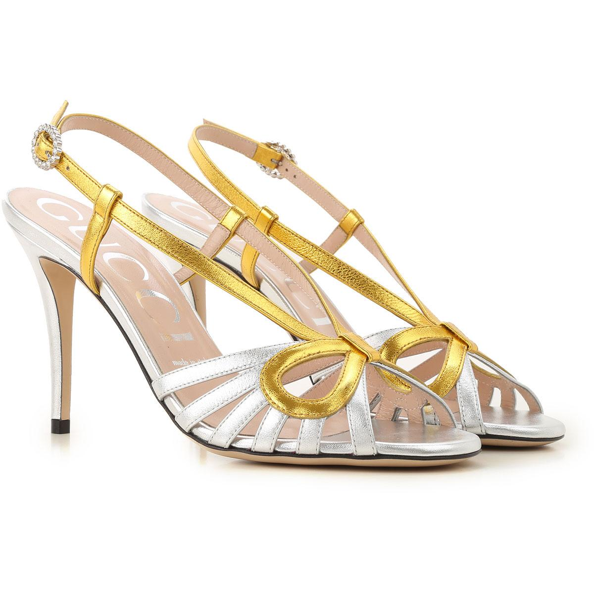 9e3fb6db364 Gucci Shoes For Women in Metallic - Lyst