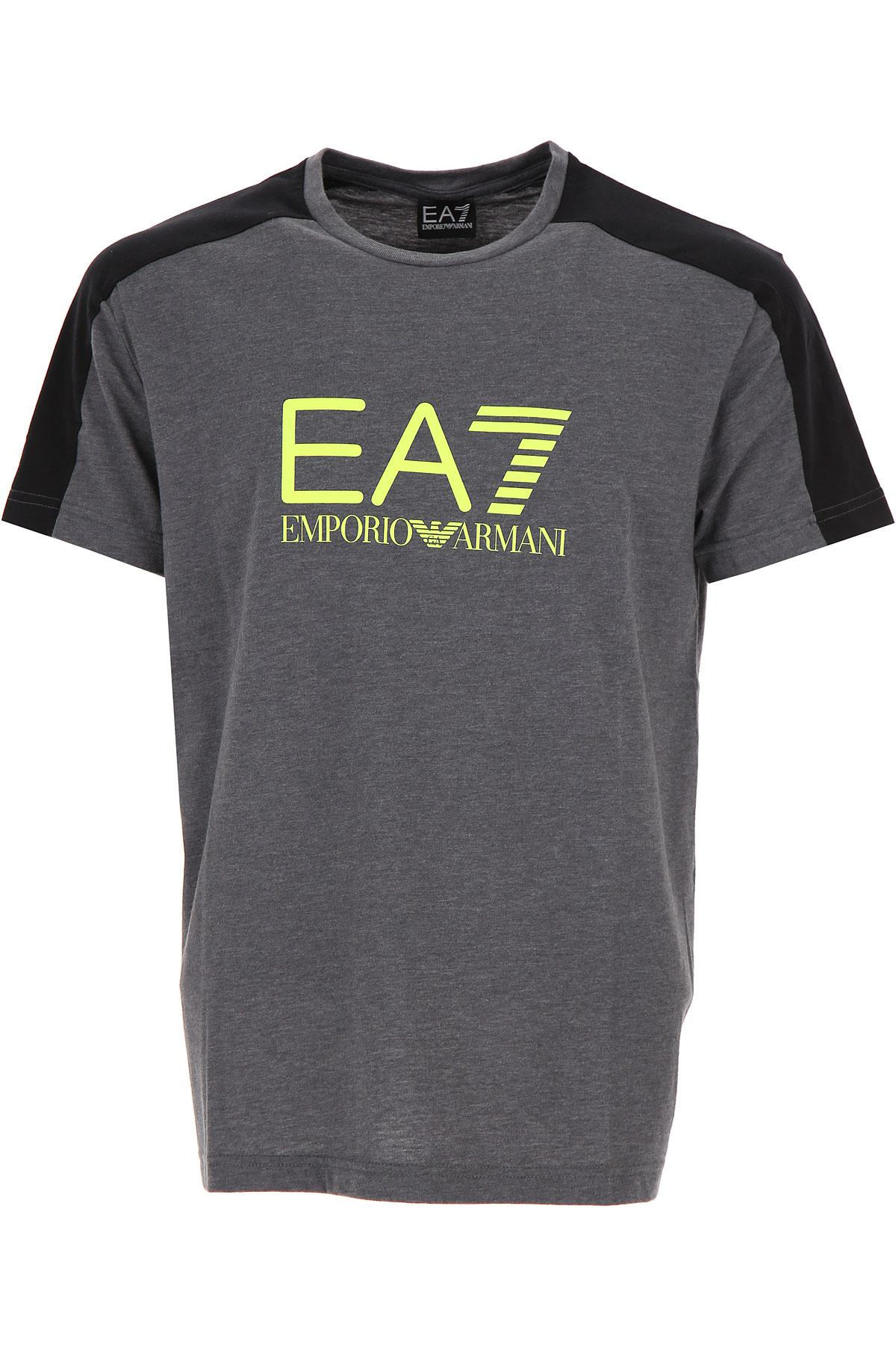 Lyst emporio armani clothing for men in gray for men for Lands end logo shirts