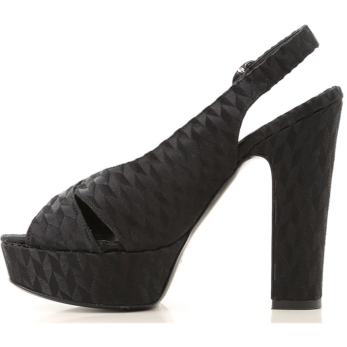 28c234cad2d Strategia - Black Sandals For Women - Lyst. View fullscreen
