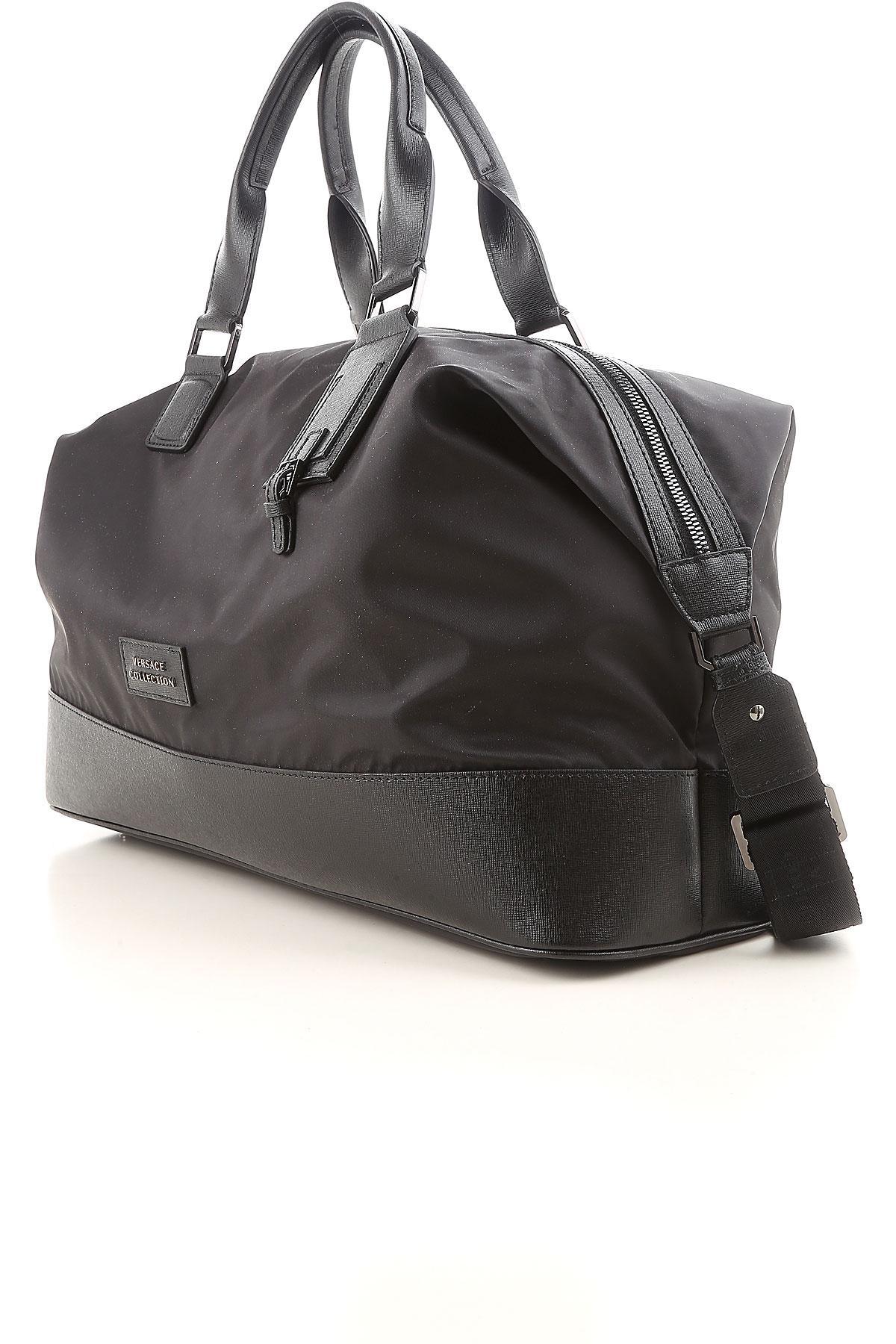af5f451e7025 Lyst - Versace Bags For Men in Black for Men