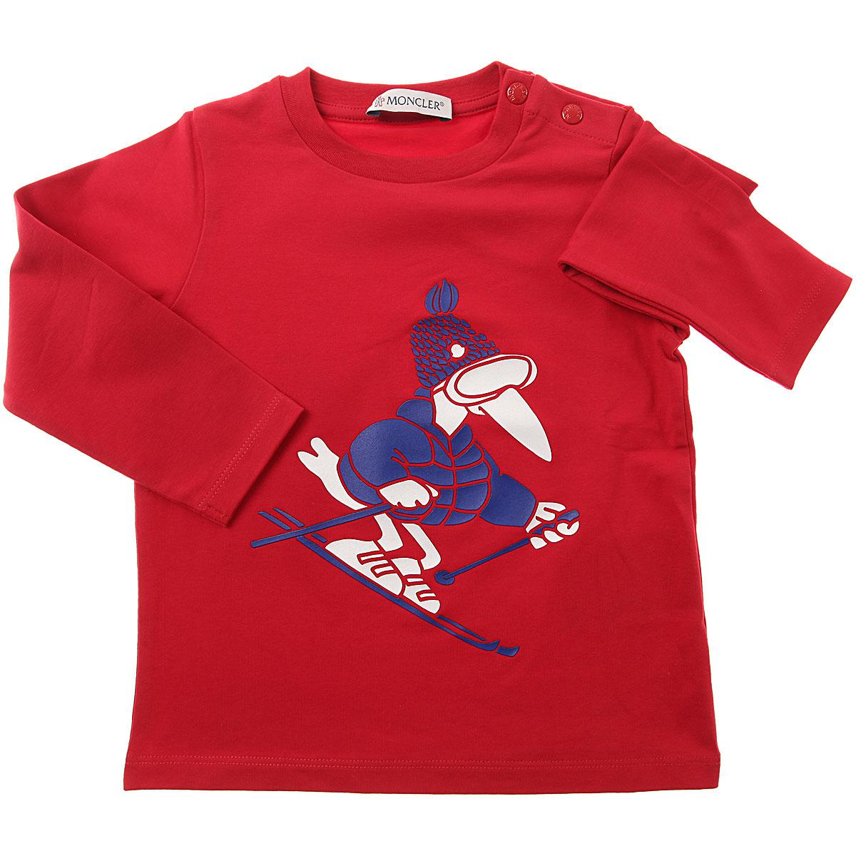 Moncler T In Lyst Men Boys Shirt For Red Baby ZqxzOFf