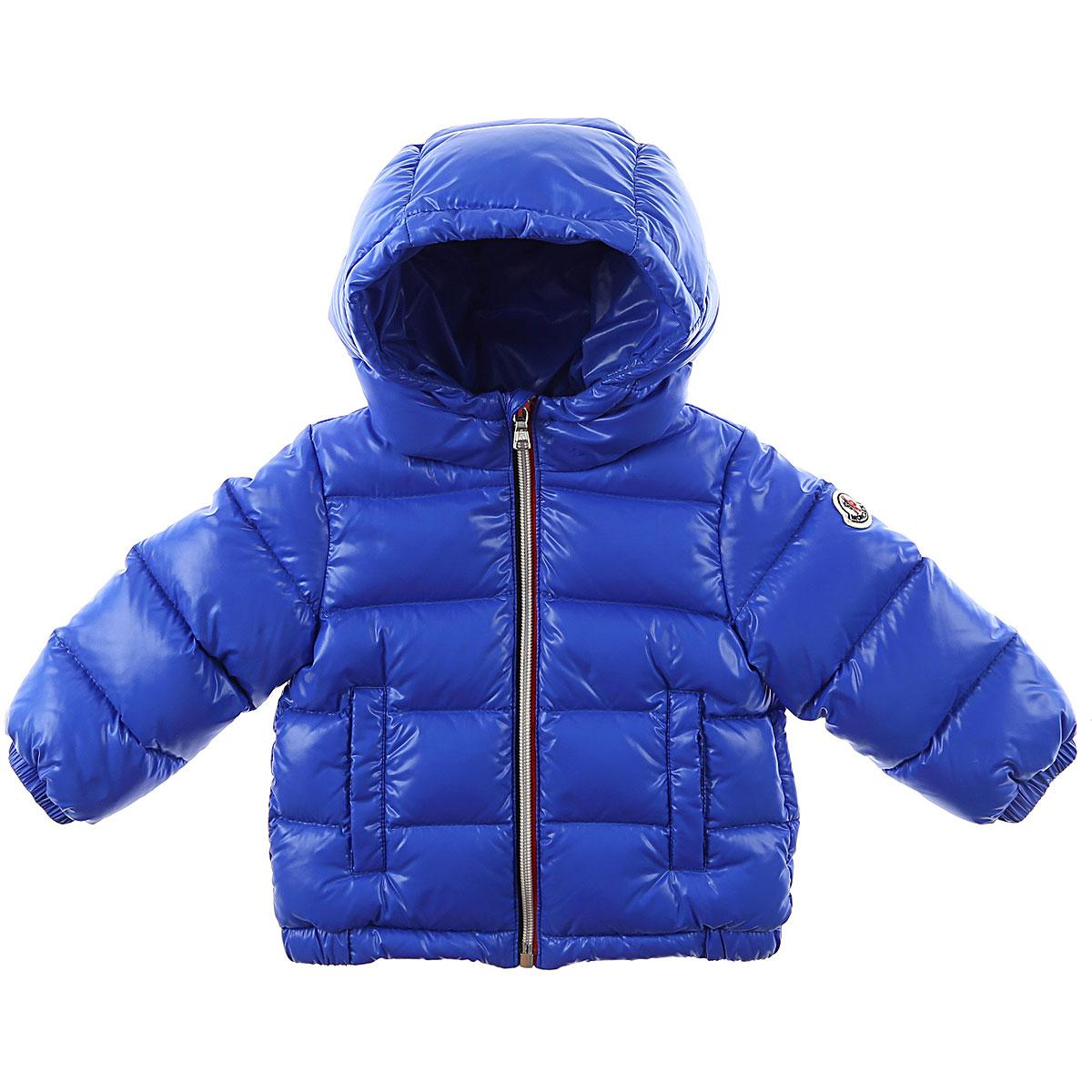 34af5fd8d Moncler Blue Baby Down Jacket For Boys for men