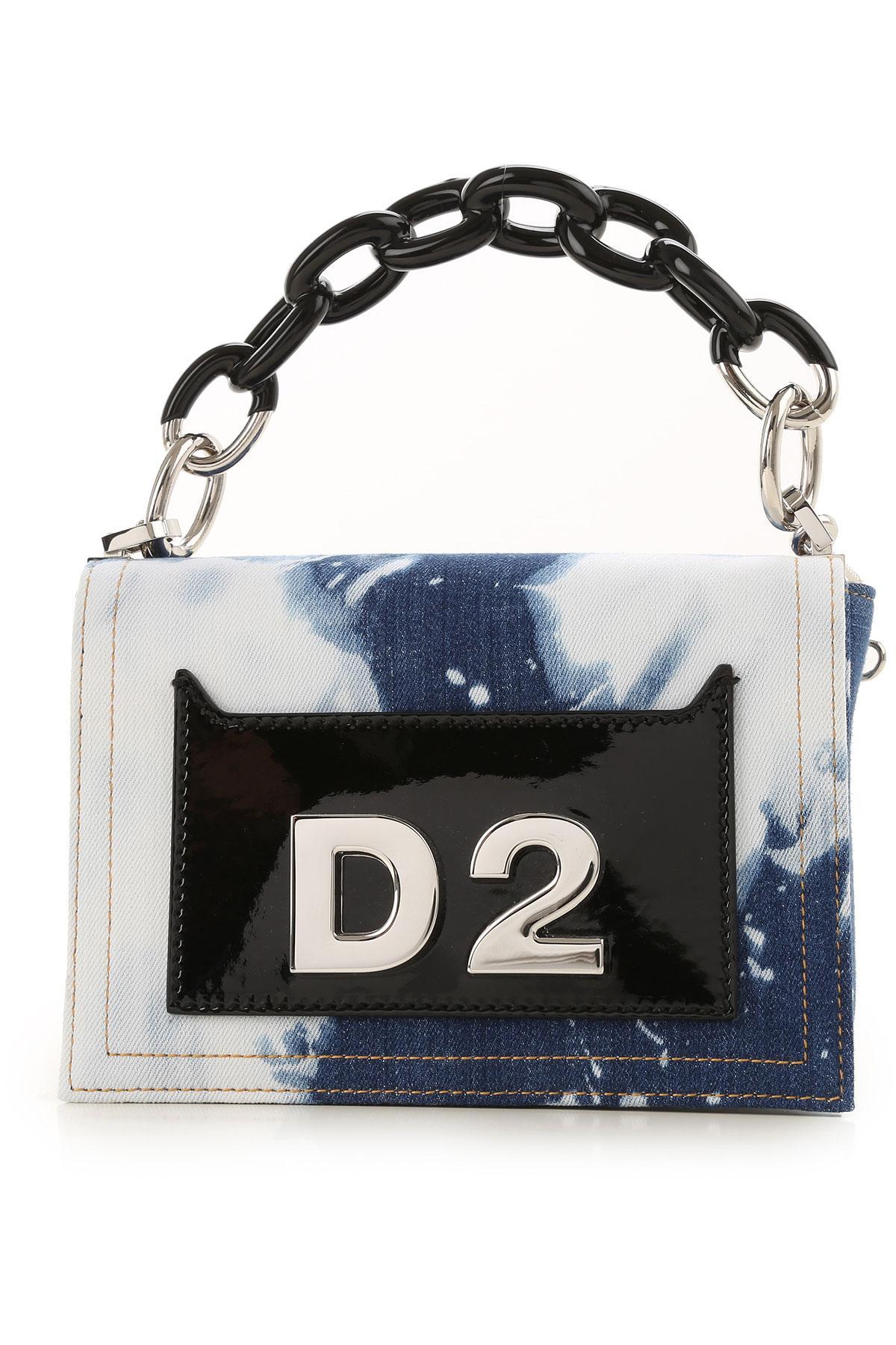 d8b3ab3e3c Sac Bandoulière Femme DSquared² en coloris Bleu - Lyst
