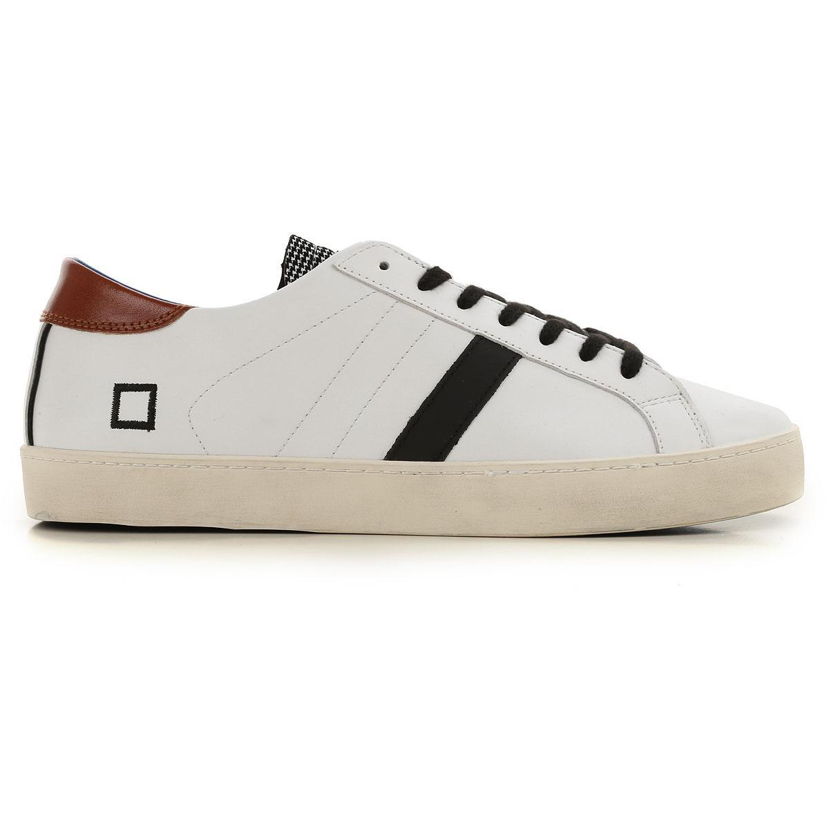 Sneaker Homme Pas cher en Soldes Date pour homme en coloris White