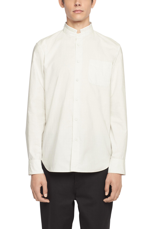 Rag bone formation shirt in white for men lyst for Rag bone shirt
