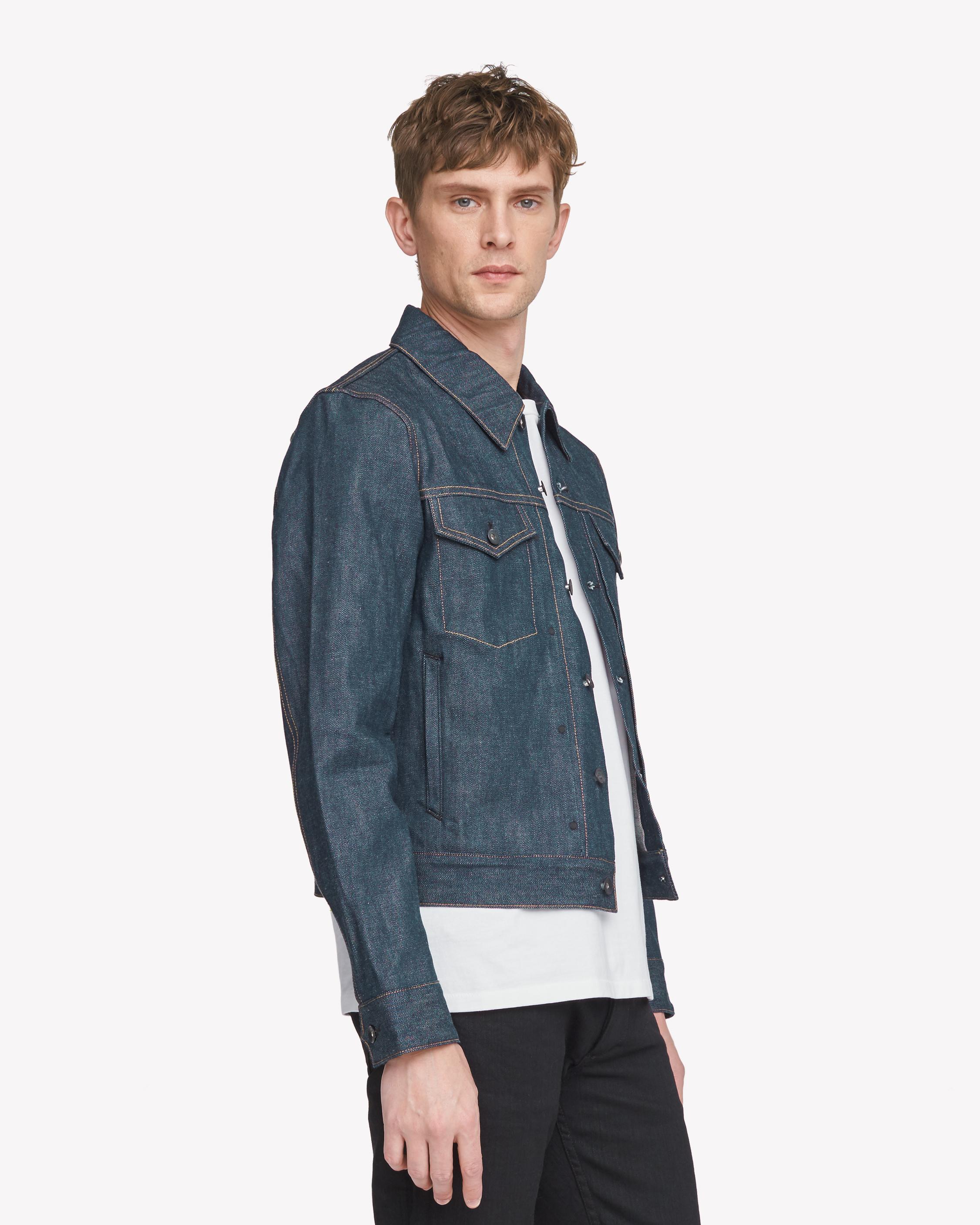 Rag & Bone Denim Definitive Jean Jacket in Blue for Men