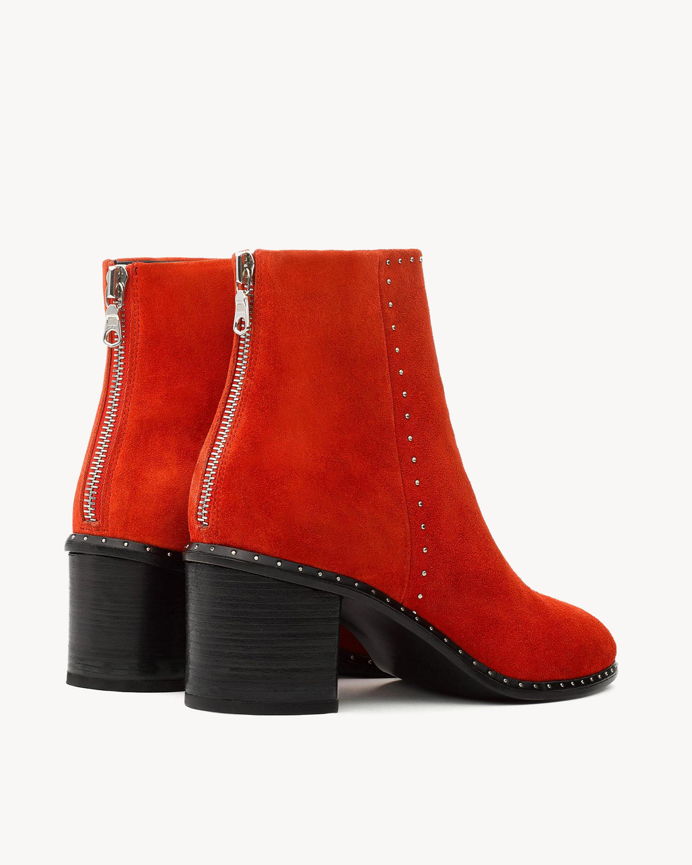 Rag and Bone Rag & Bone Tan Suede Willow Stud Boots xLwoK
