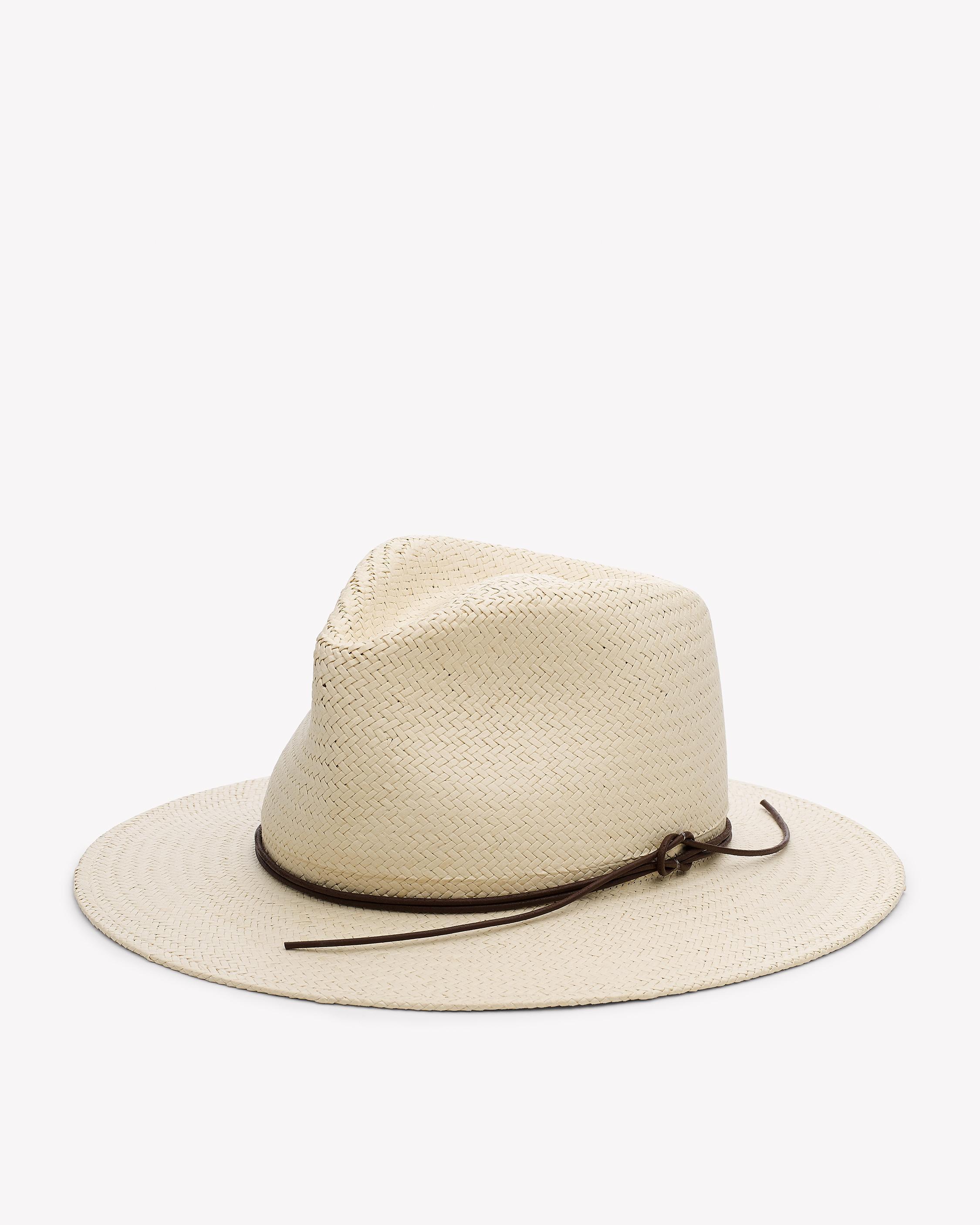 rag bone packable straw hat in lyst