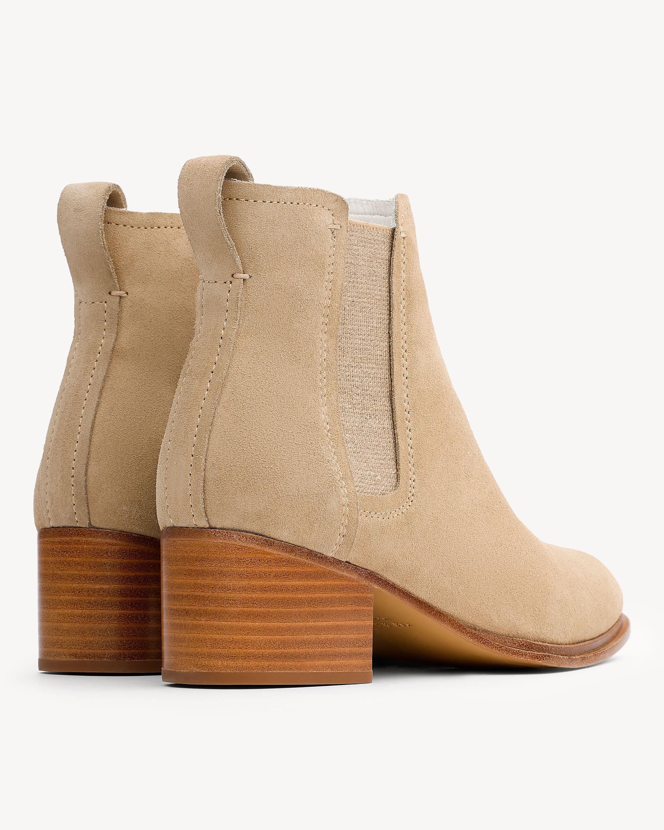 Rag & Bone Suede Walker Boot in Natural