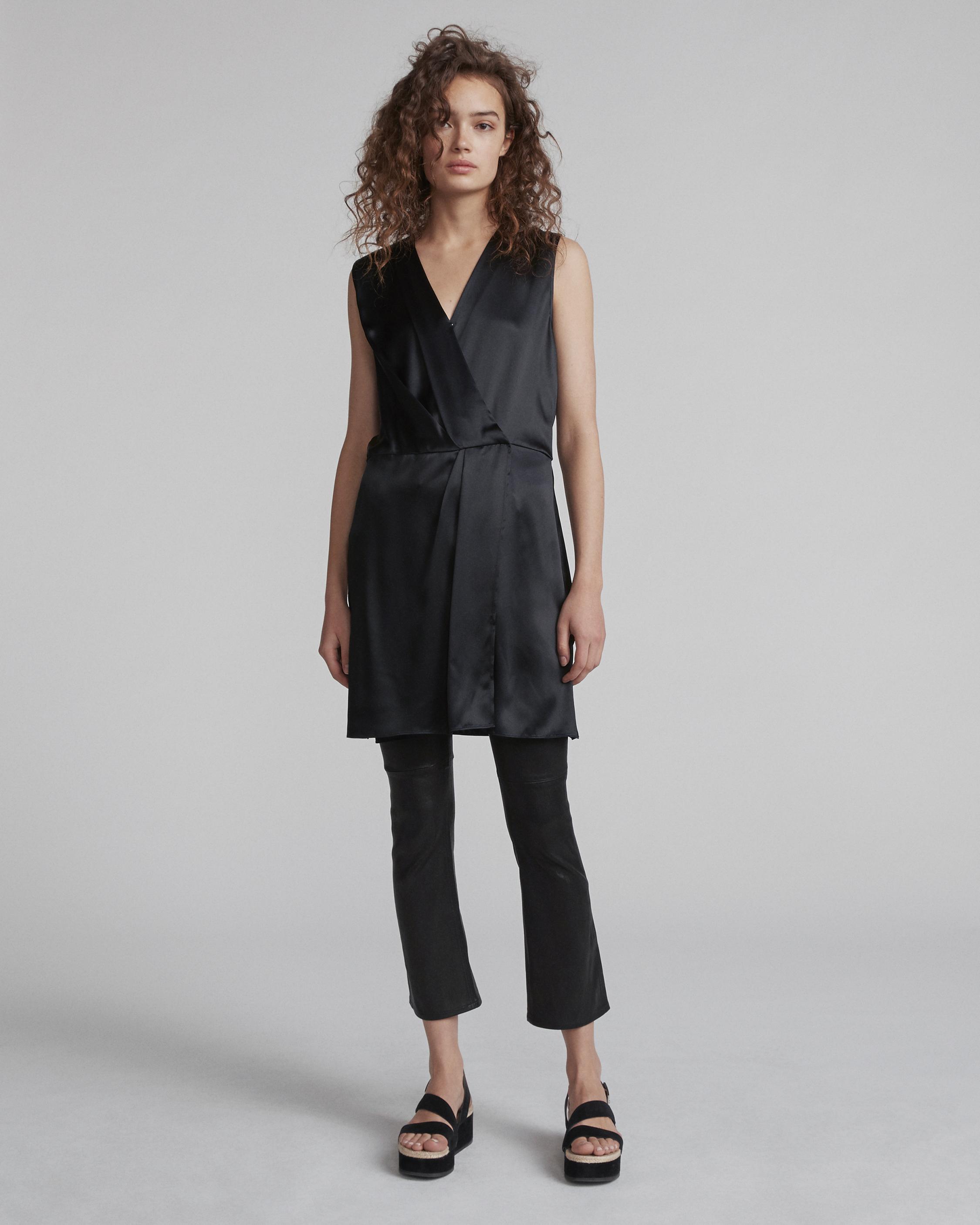 046a8fe823847b Rag & Bone Sleeveless Victor Dress in Black - Lyst