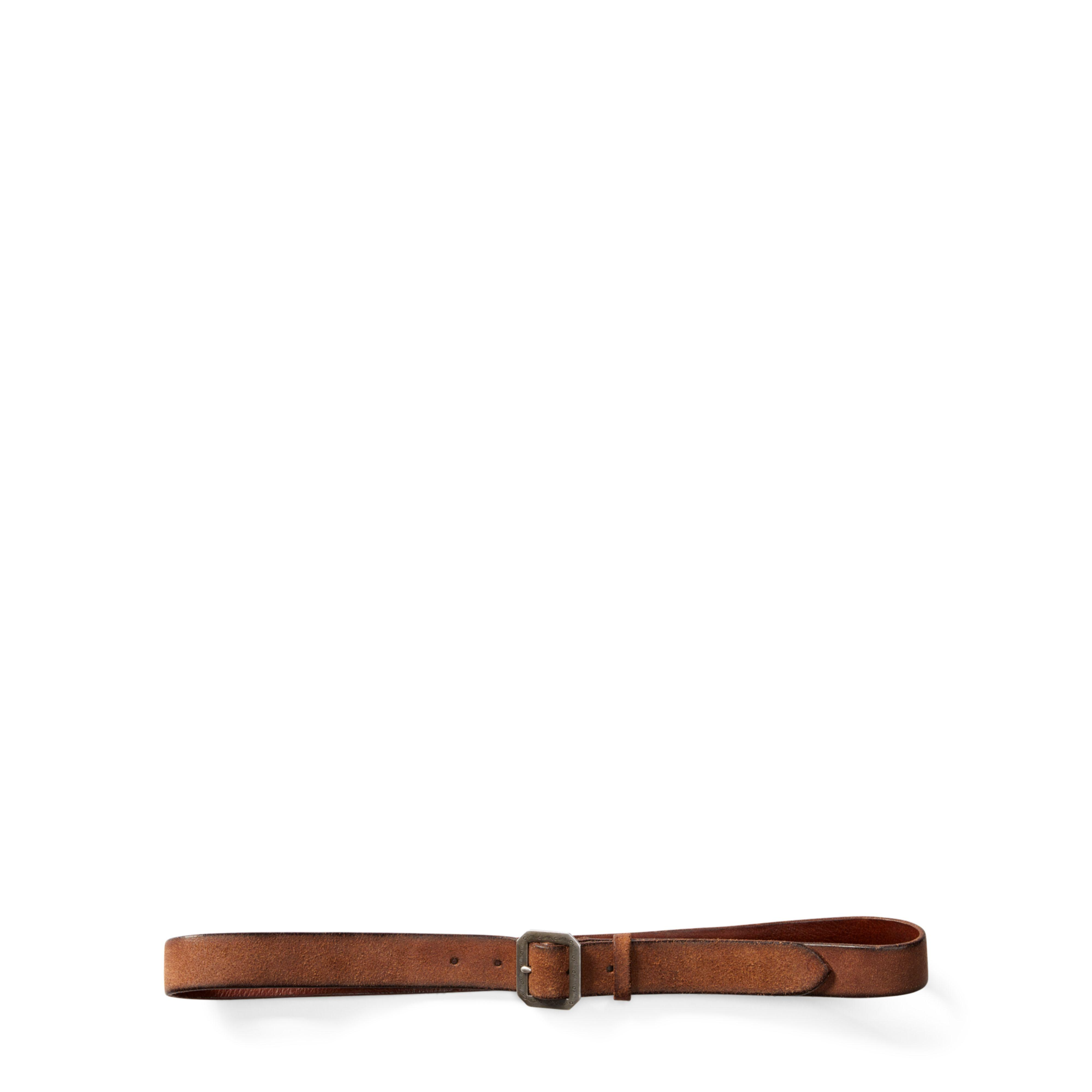 Toloc Braided Leather Belt - Brown Caravana yElhho8S