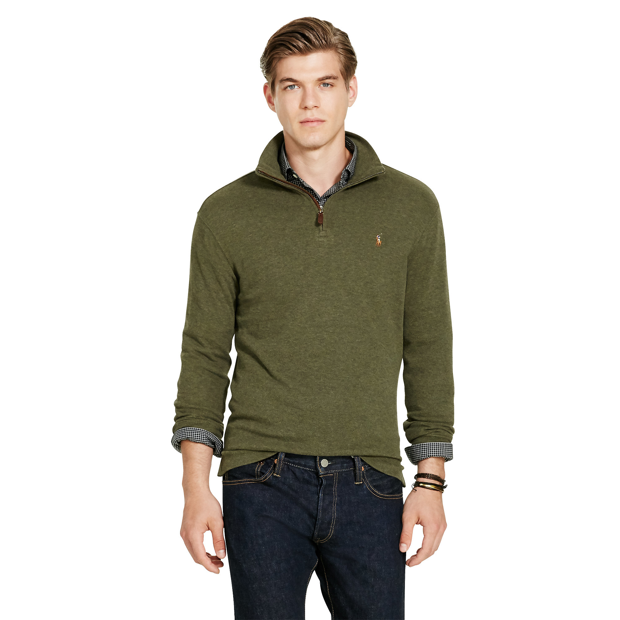 Ralph Lauren Multicolor Estate rib Cotton Pullover For Men Lyst