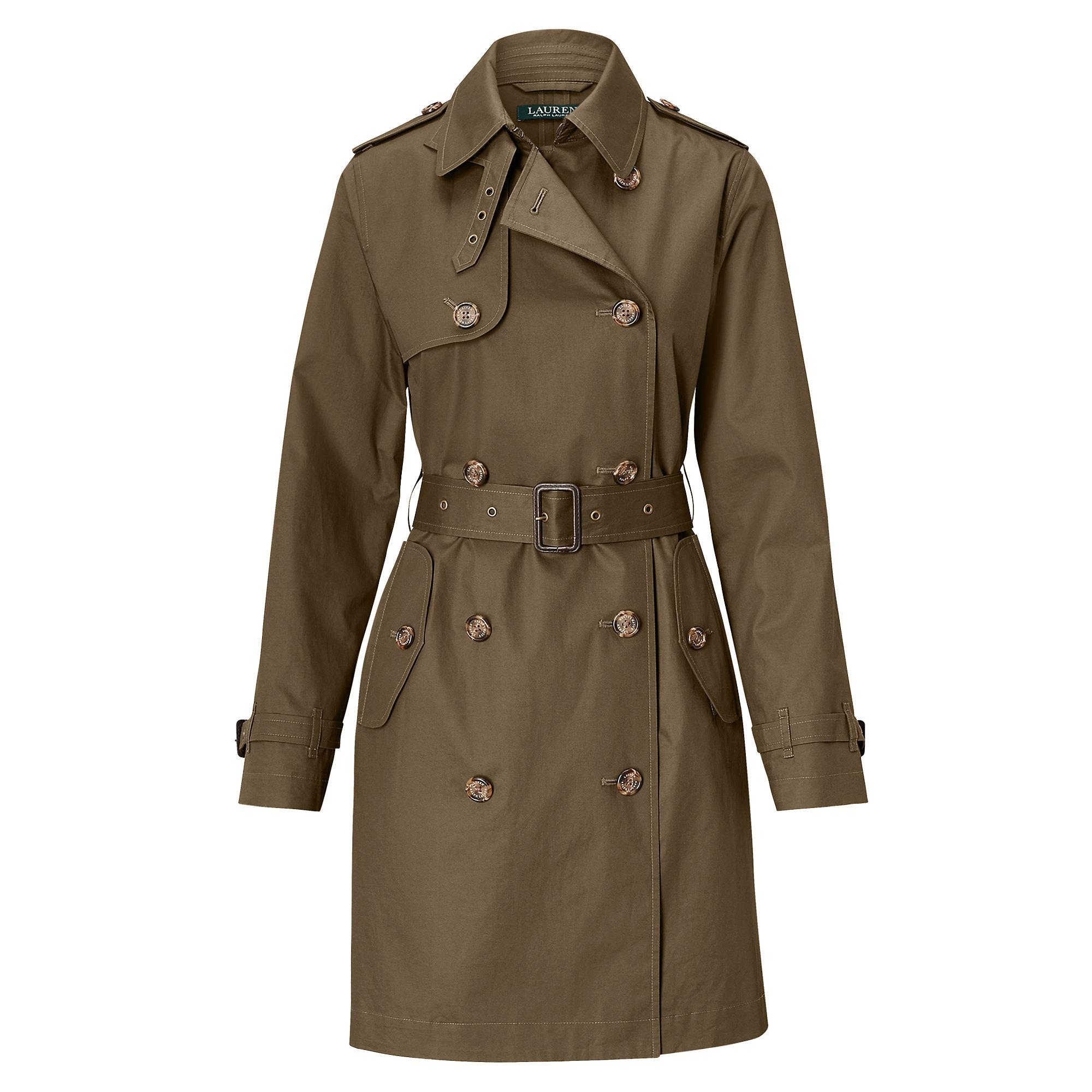 4d71b33d6b lauren by ralph lauren coat kingston belted trench raincoat polo ...