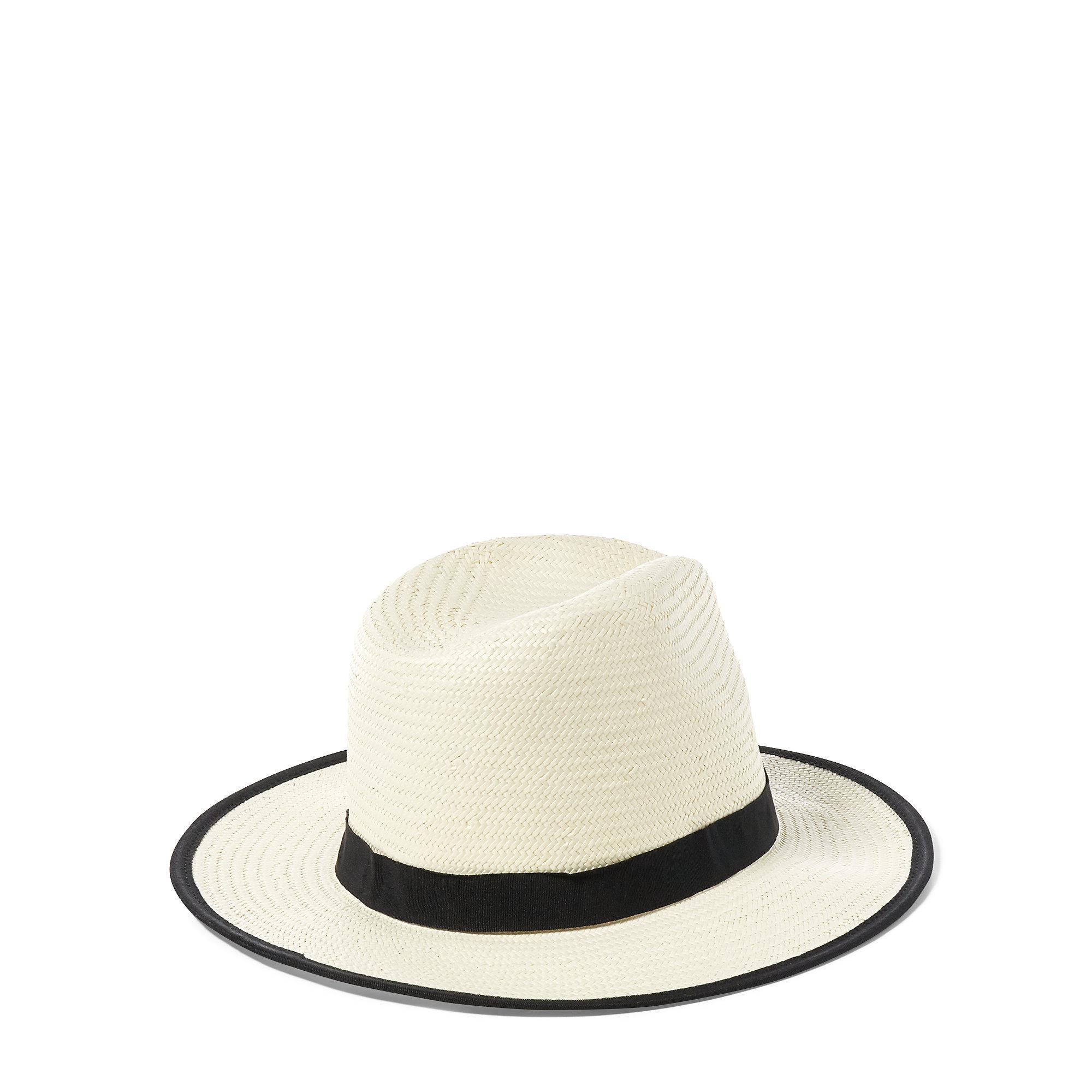 Ralph Lauren Panama Hat in Natural for Men - Lyst