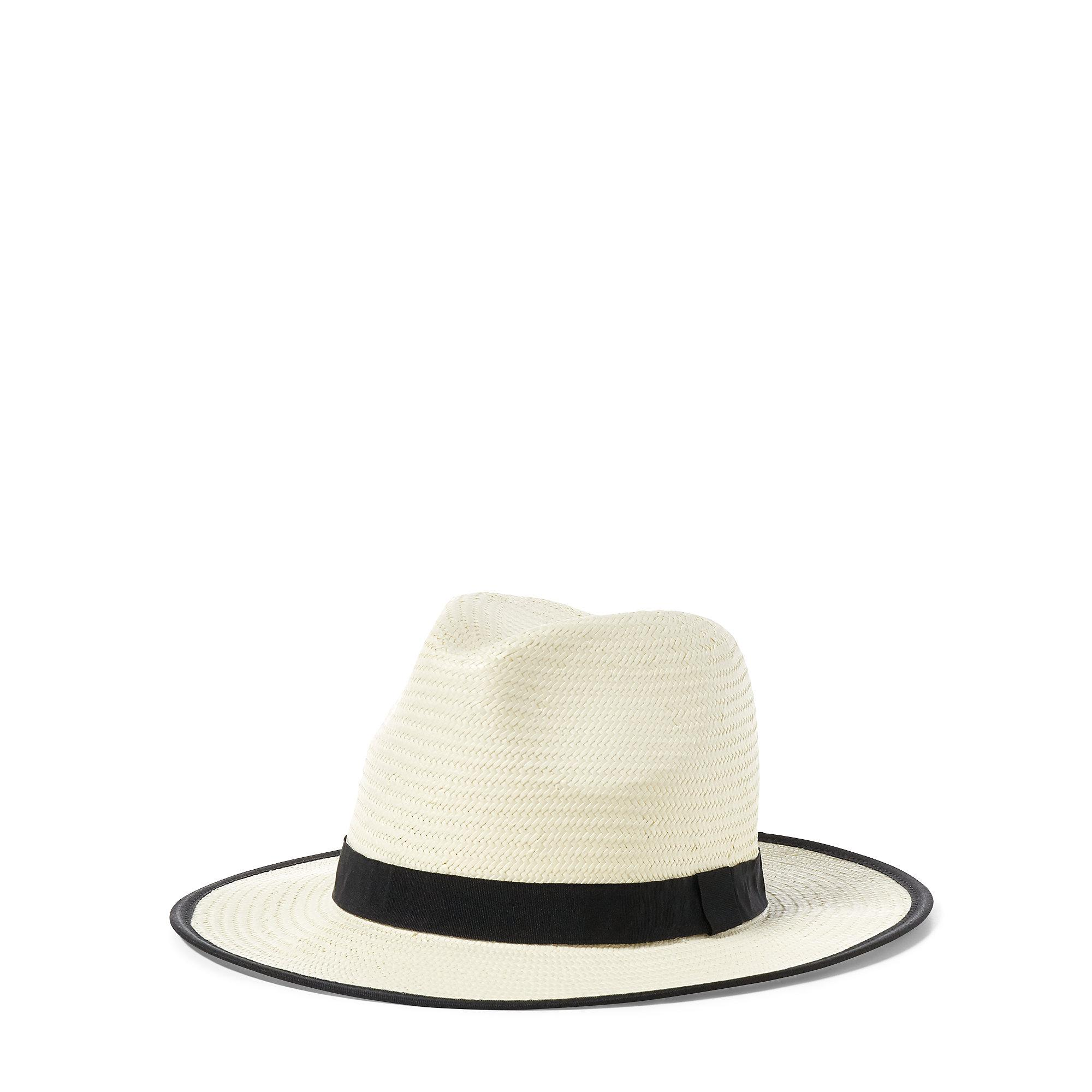 Polo Ralph Lauren Synthetic Polo Panama Hat in Natural for Men - Lyst