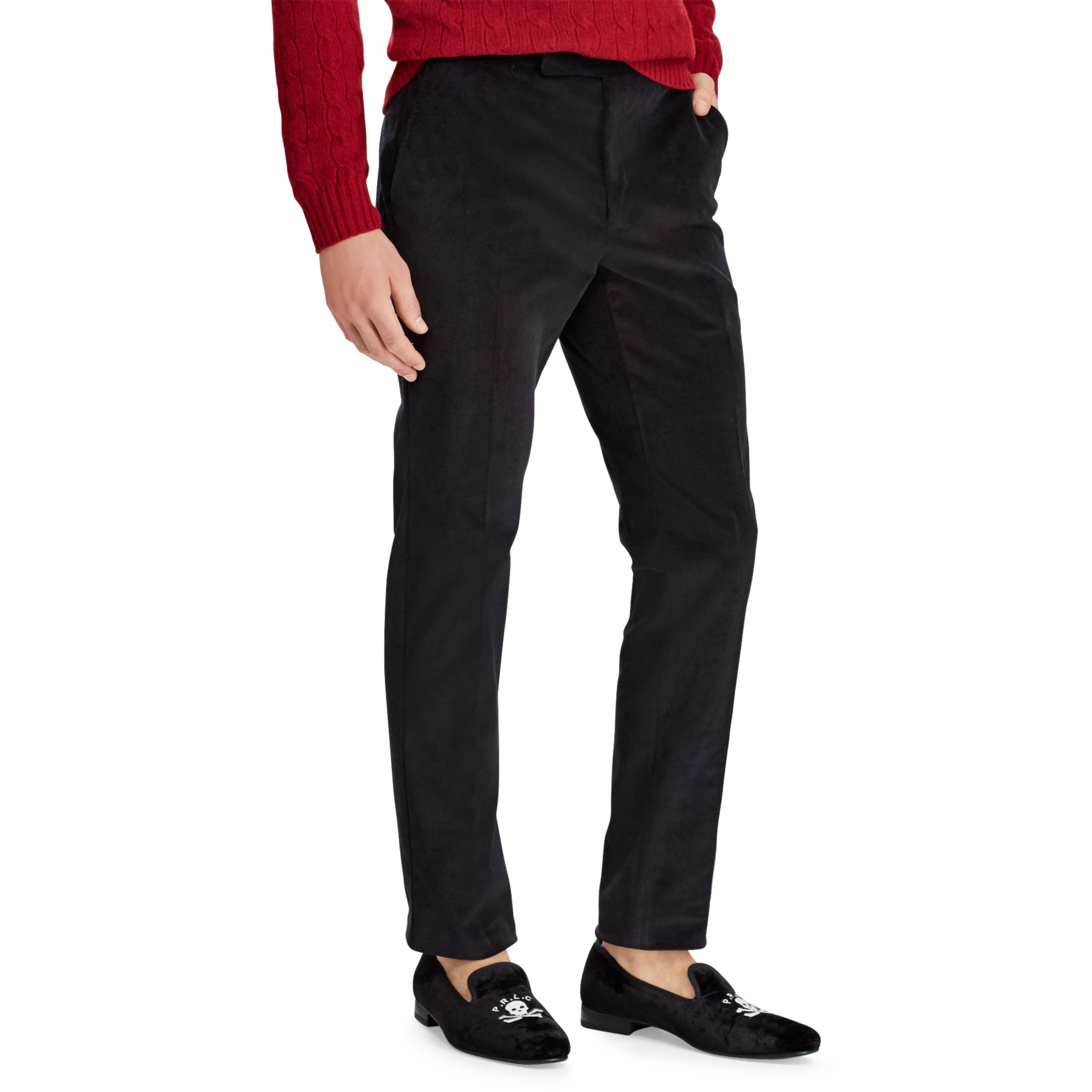 28121f6c6a Polo Ralph Lauren Black Polo Corduroy Suit Trouser for men