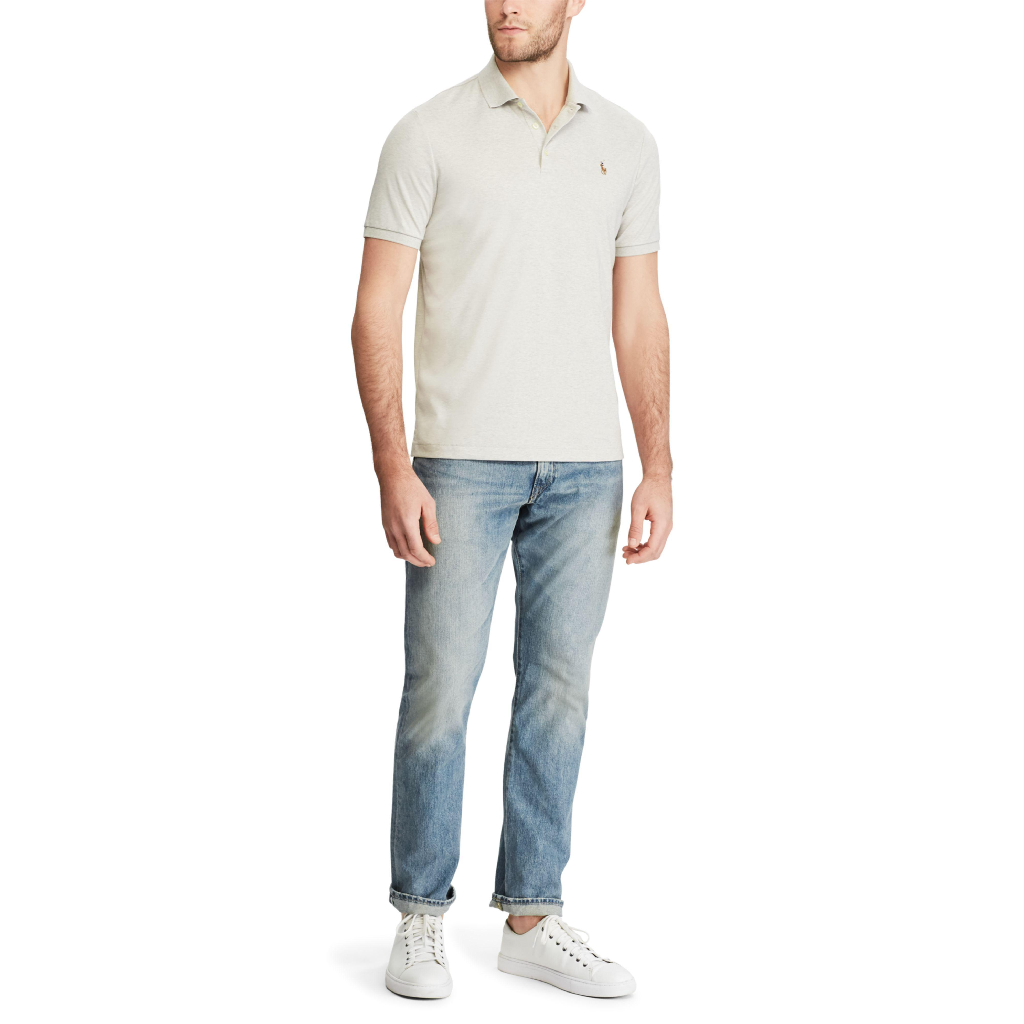 Ralph Multicolor Fit Lauren Soft Polo Classic Touch Men For XZiwTOkuP
