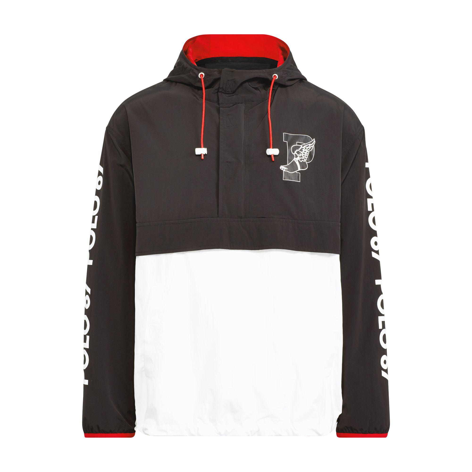 5a279c3b4 Tap to visit site. Polo Ralph Lauren - Black P-wing Graphic Pullover for Men  ...