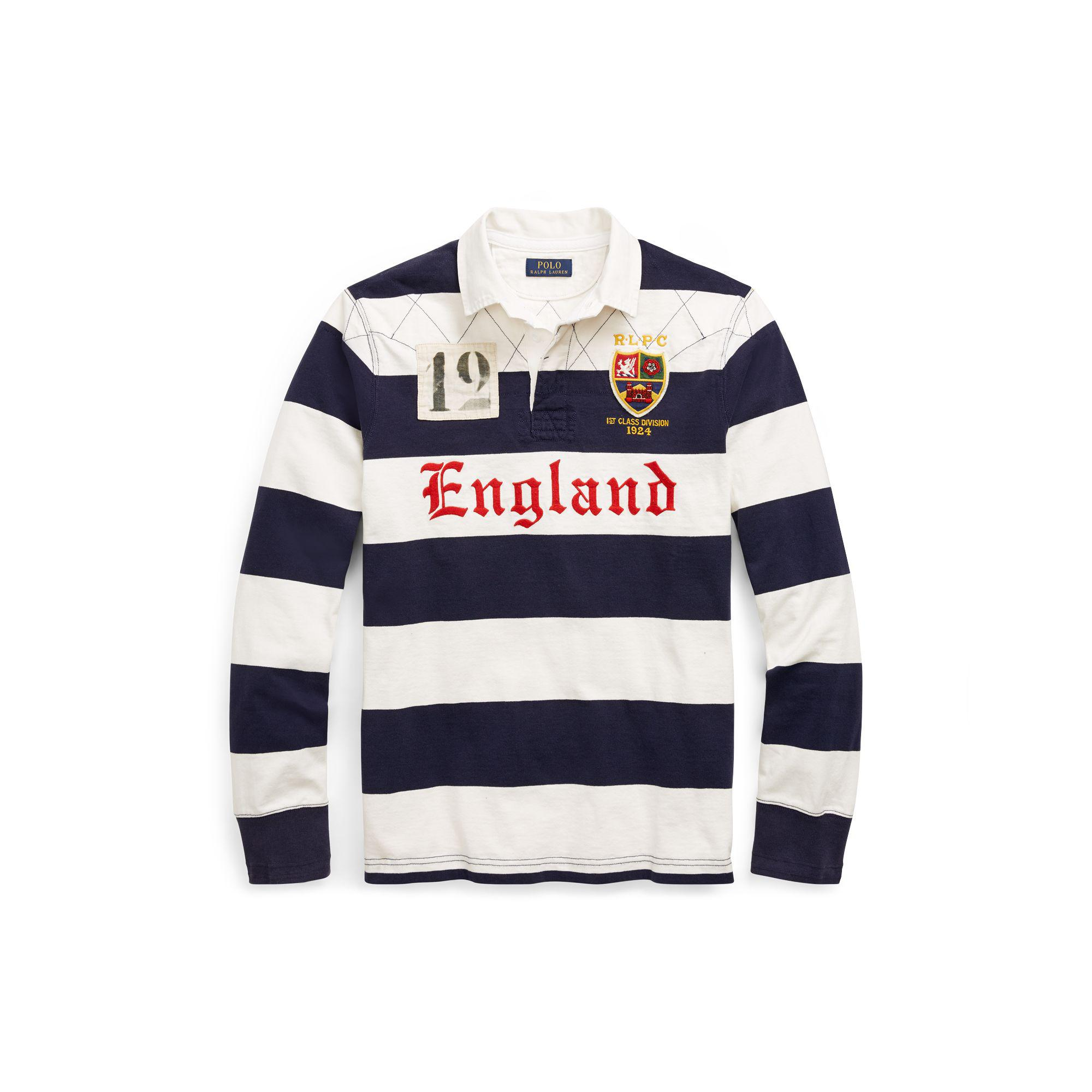 The Shirt Ralph Blue For Lauren Rugby Polo Men Iconic 34cAjq5LR