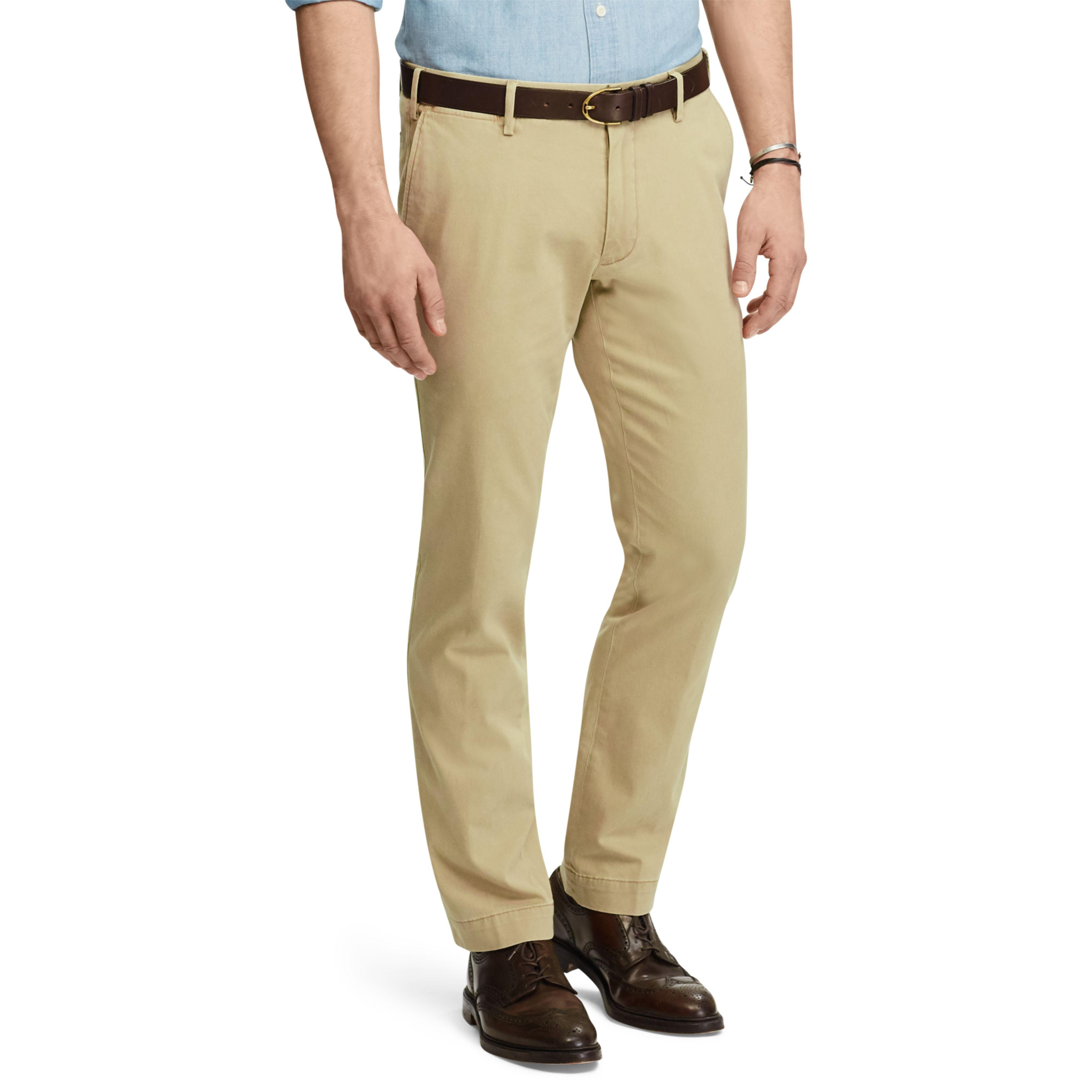 b639901d Polo Ralph Lauren Natural Stretch Slim Fit Cotton Chino for men
