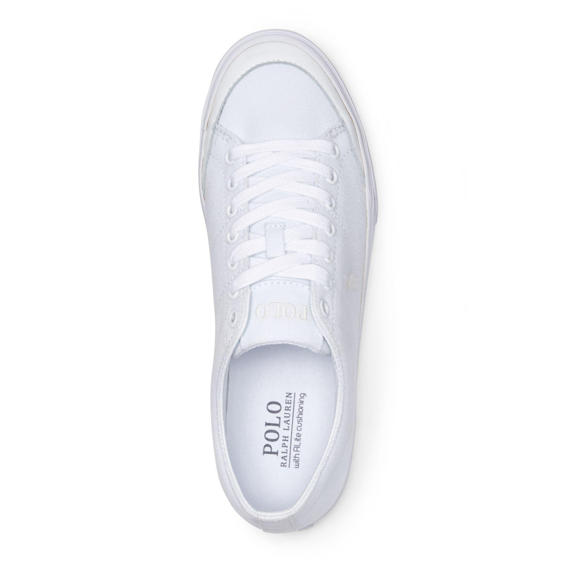Weiß Low Canvas Top Sneaker Sherwin strdhCQ
