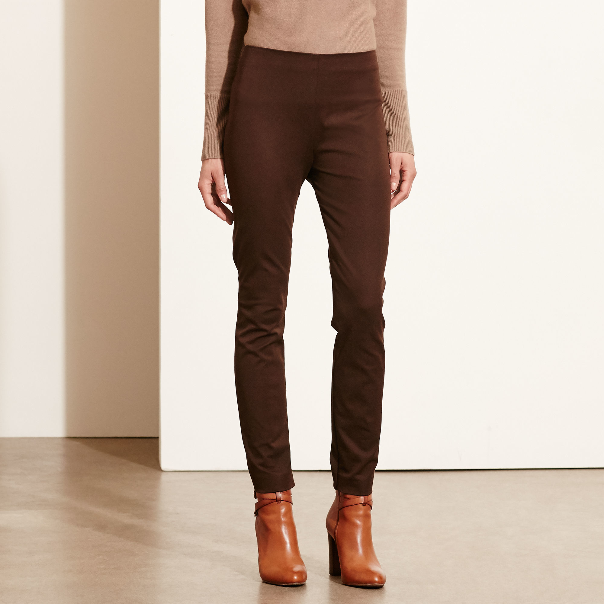Find brown stretch pants at ShopStyle. Shop the latest collection of brown stretch pants from the most popular stores - all in one place.