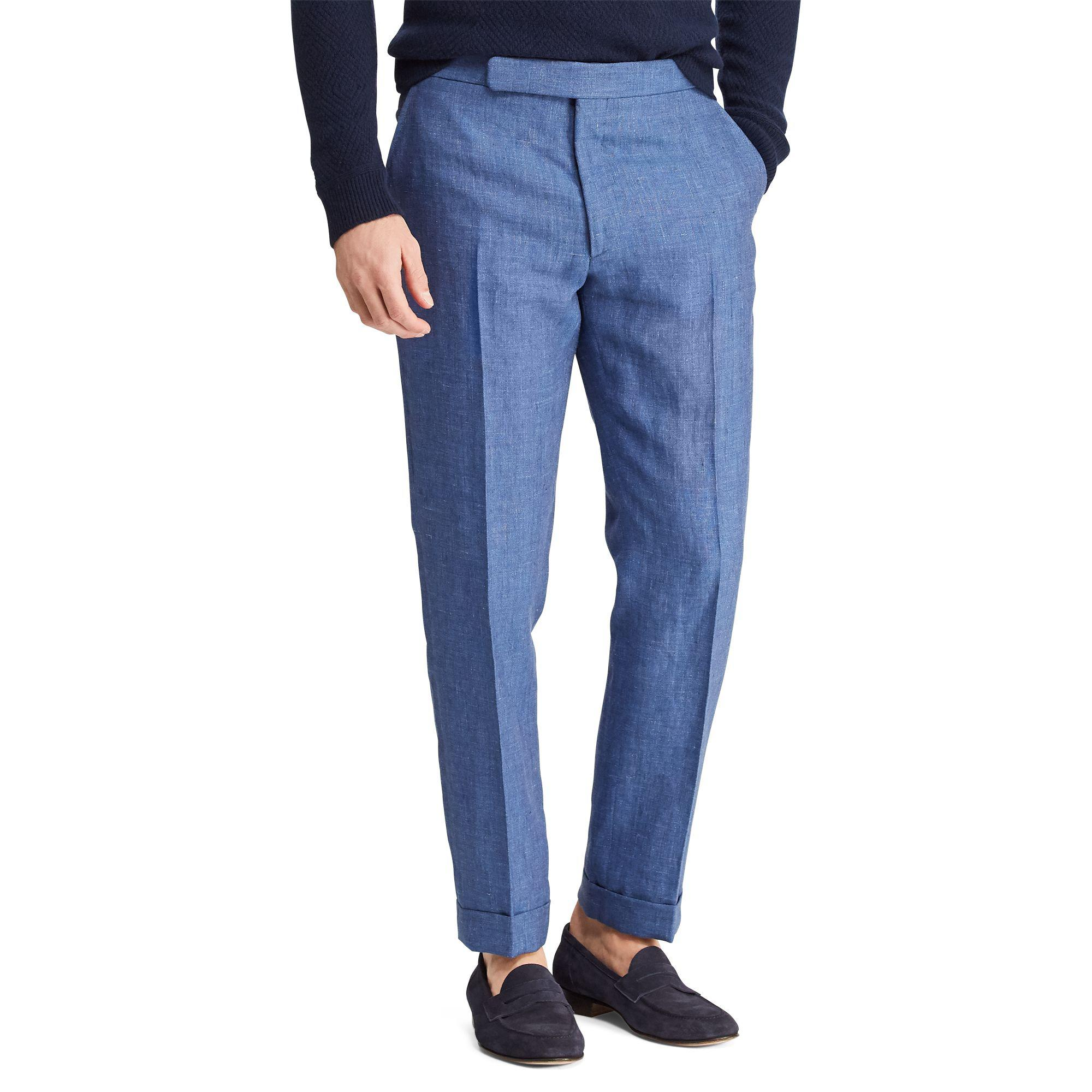 $595 Ralph Lauren Purple Label Wool Lux Track Double Knit Pants Relax Jogger