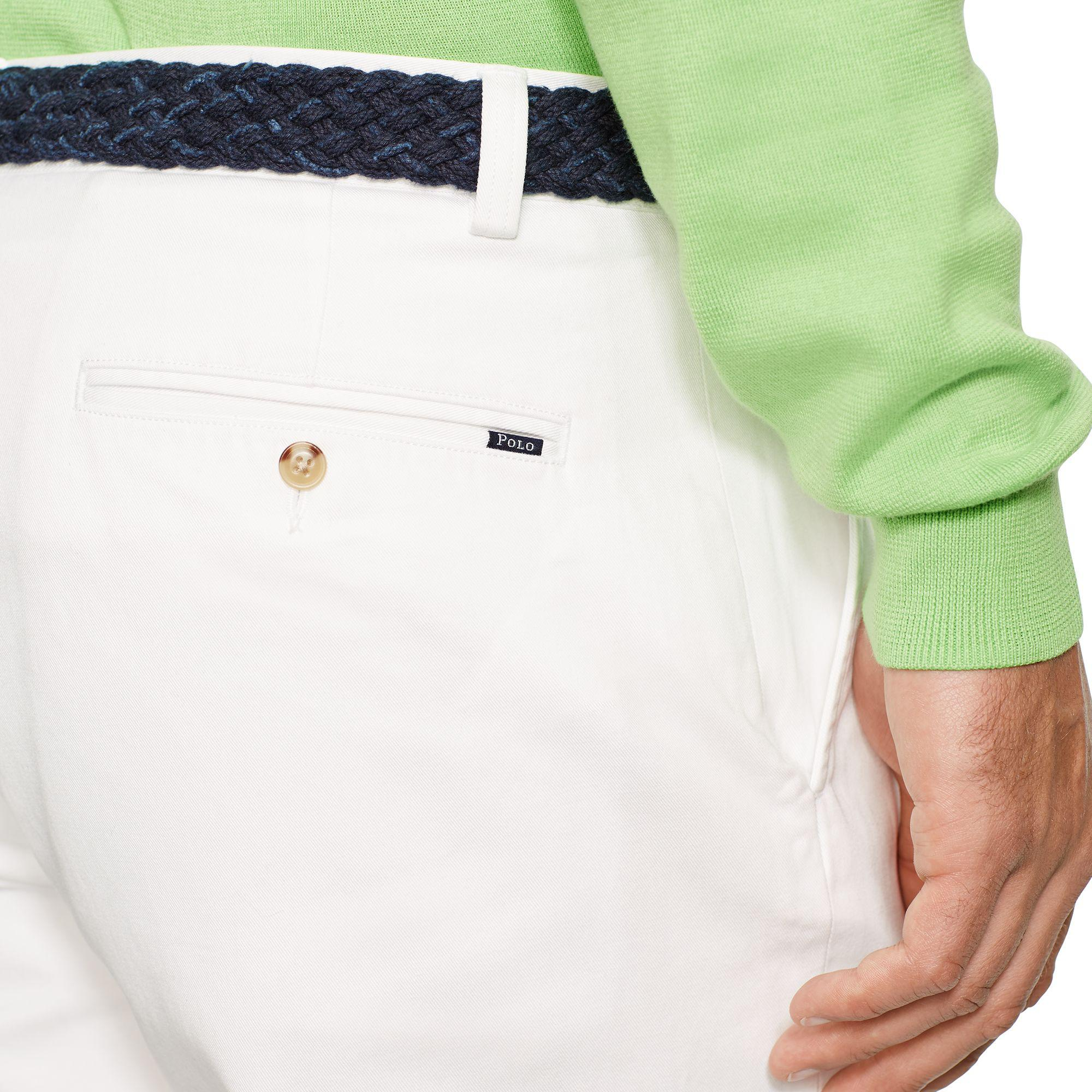 Pink Pony Cotton Classic-fit Chino in White for Men