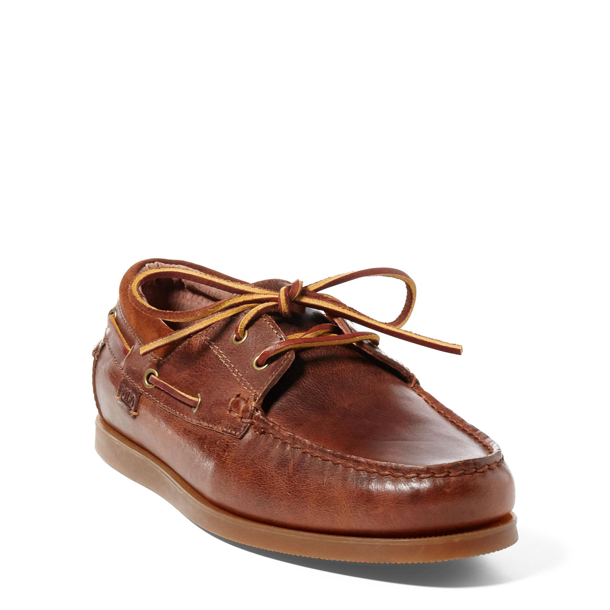 Polo Ralph Lauren Dayne Classic Leather Boat Shoes
