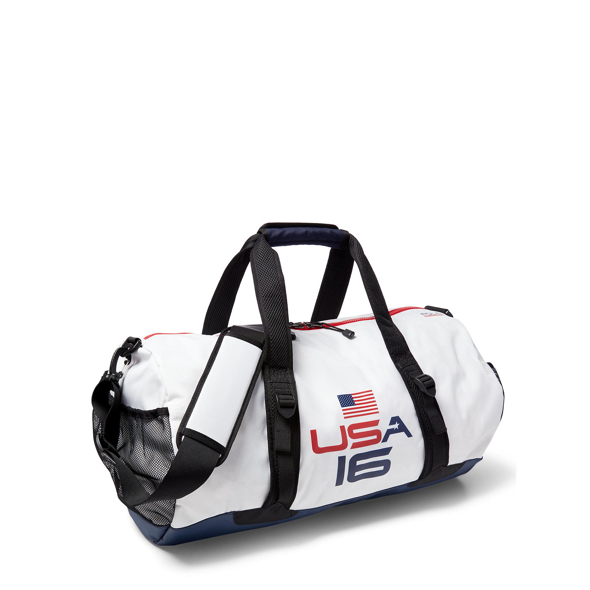 2570a5b321 Lyst - Polo Ralph Lauren Team Usa Nylon Duffel Bag in Black for Men