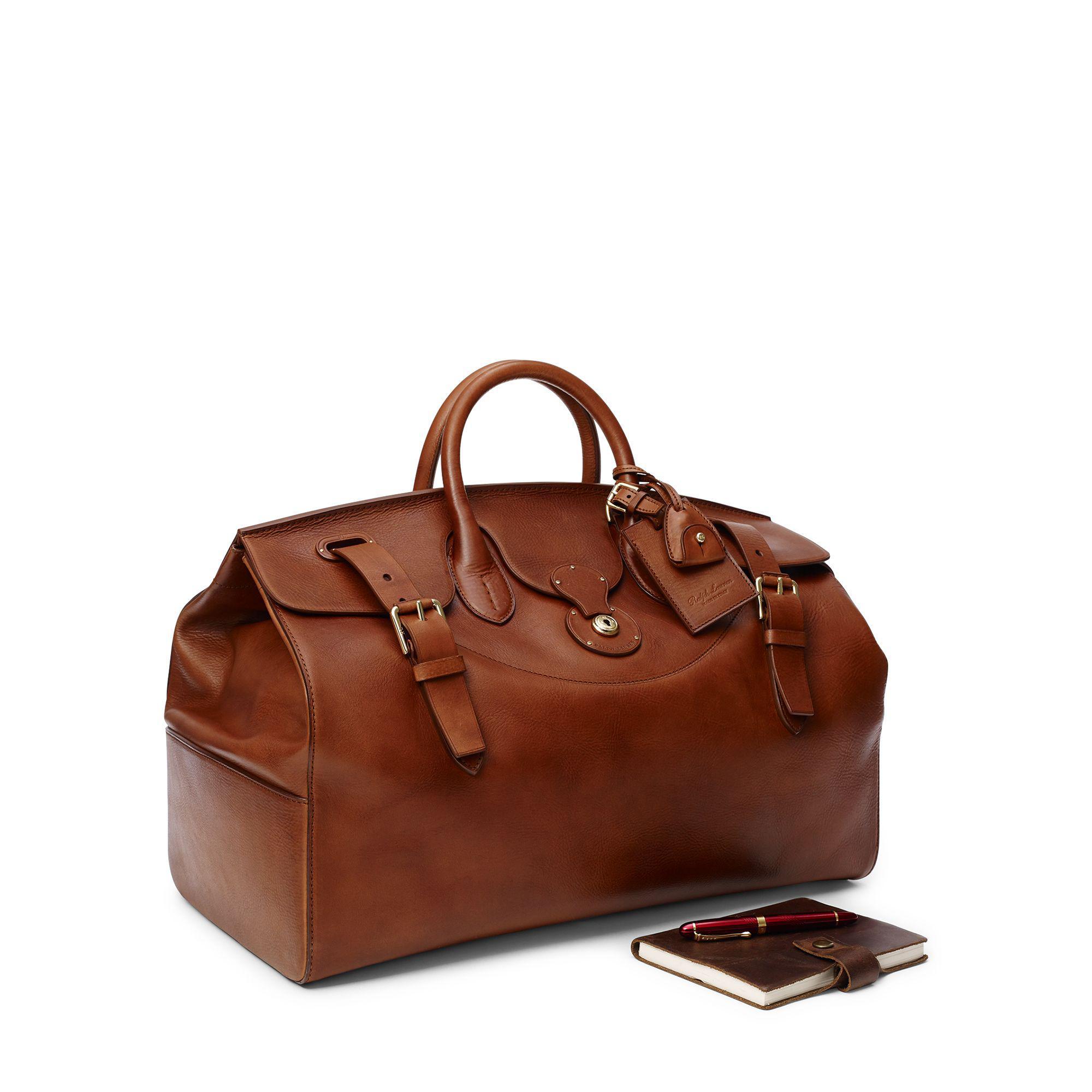 a597796573 Lyst - Ralph Lauren Vintage Vachetta Cooper 50 Bag in Brown for Men