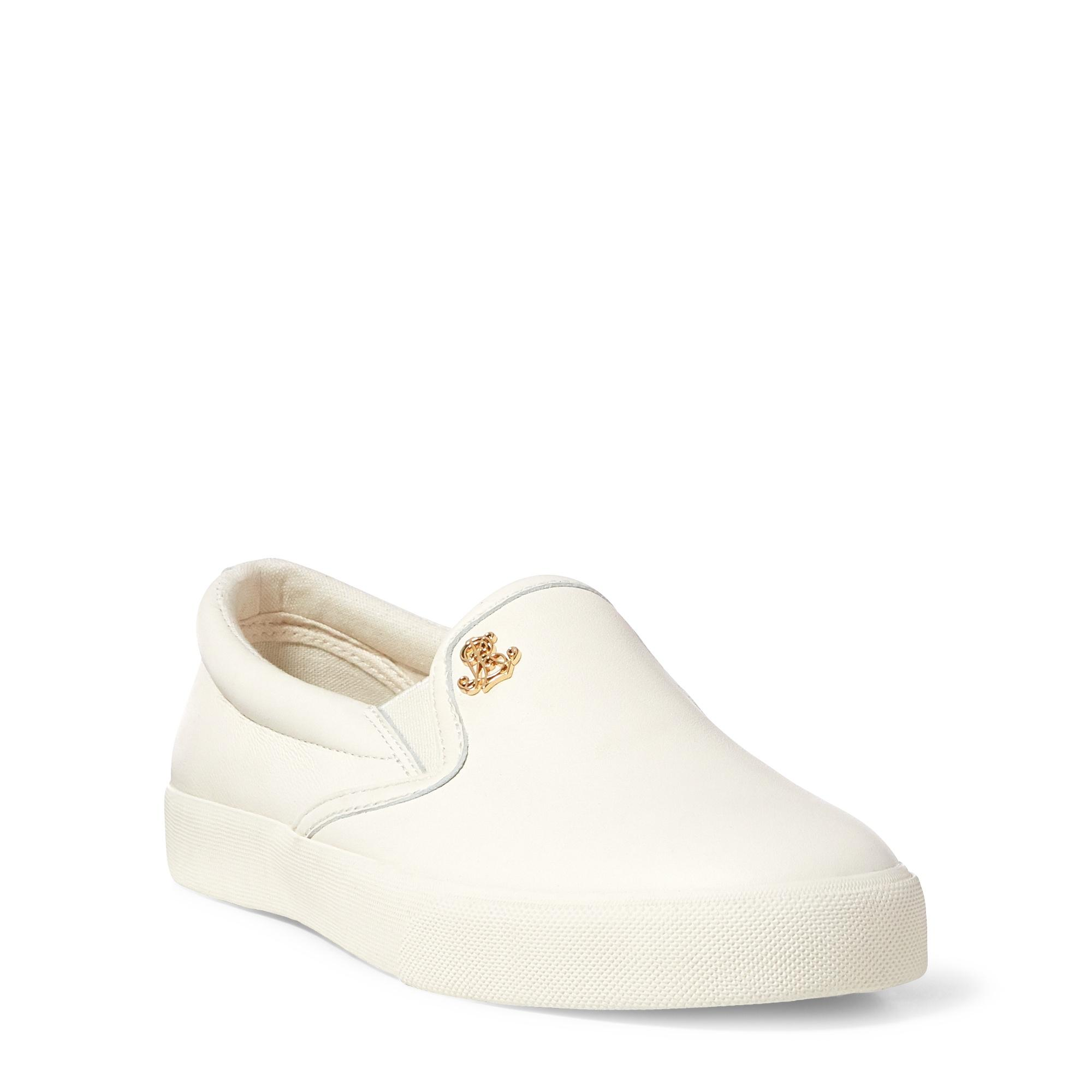 2088c6b66c Women's Natural Ria Leather Slip-on Trainer
