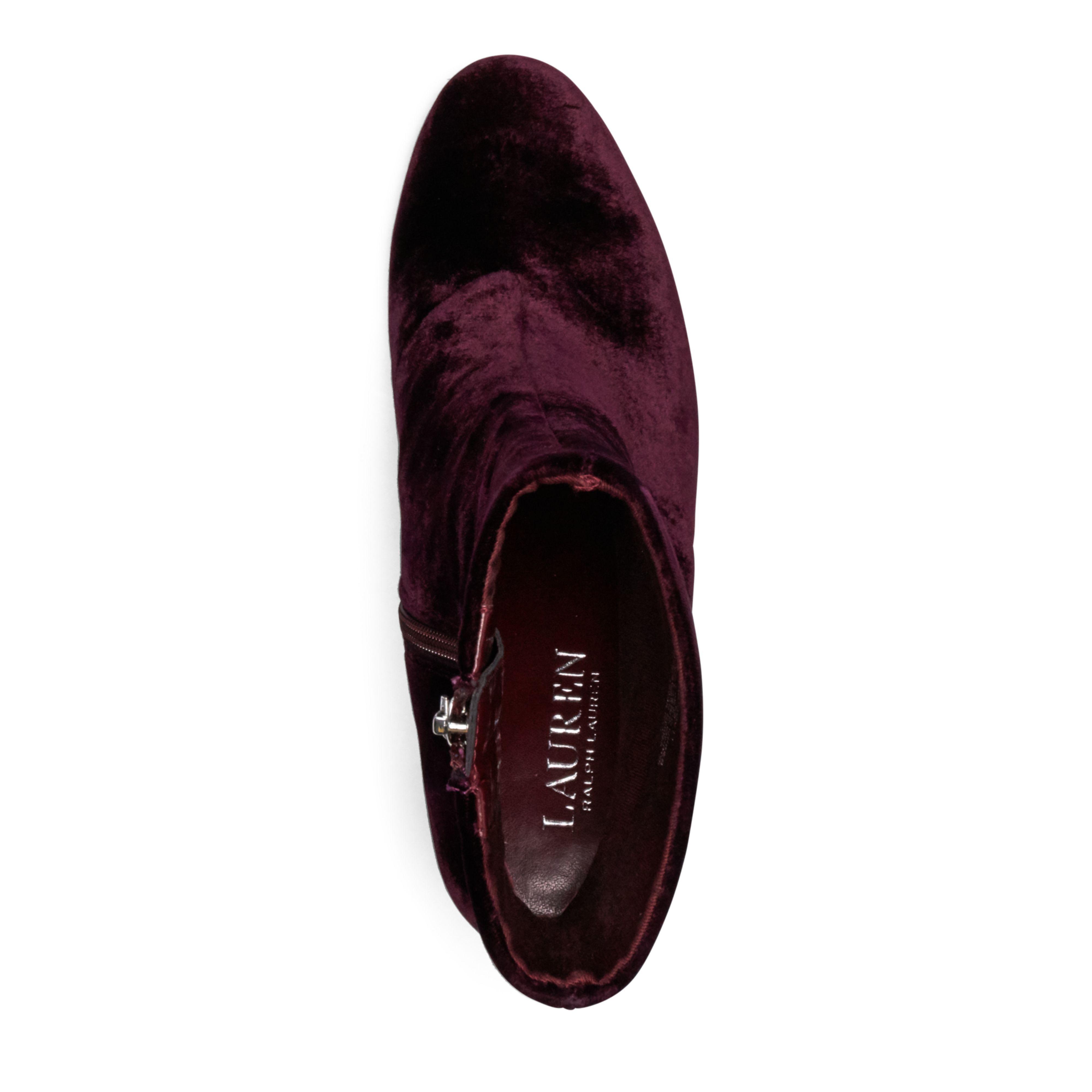 a89da89f65f Ralph Lauren Multicolor Bridgett Velvet Boot