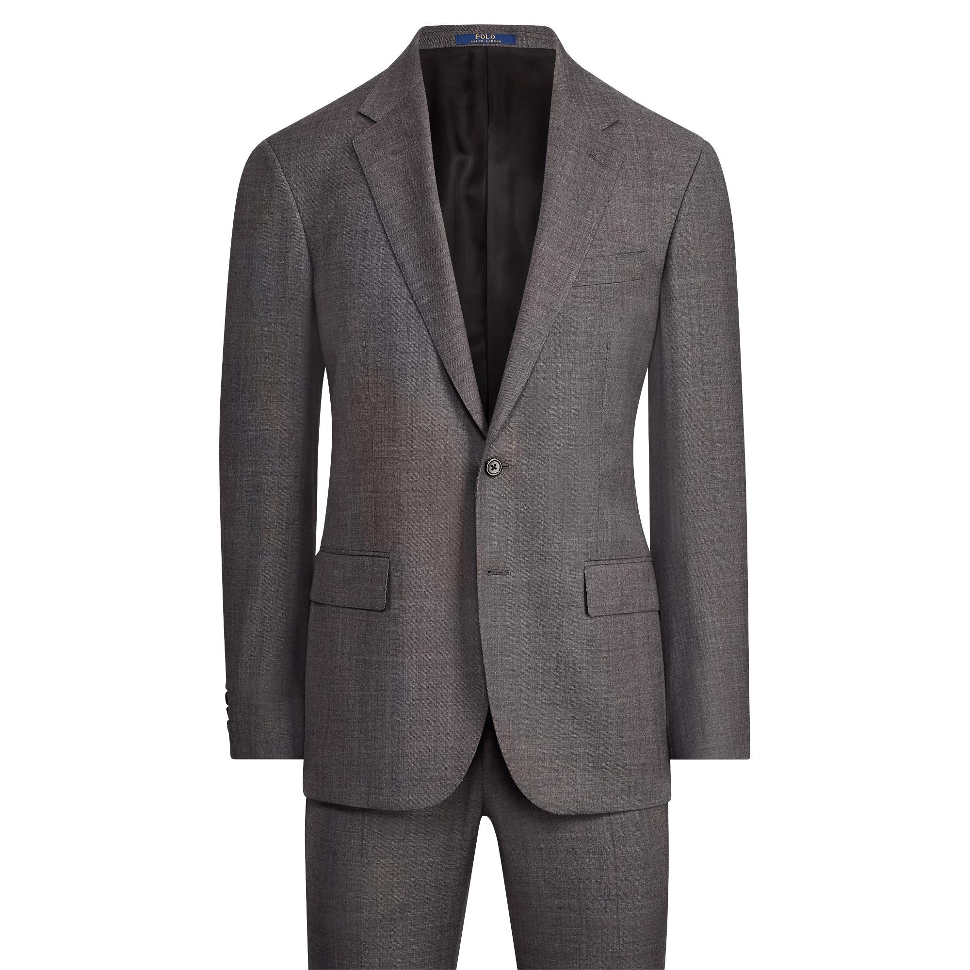 39cfb0bcf7 Polo Ralph Lauren Polo I Wool Sharkskin Suit in Gray for Men - Save ...