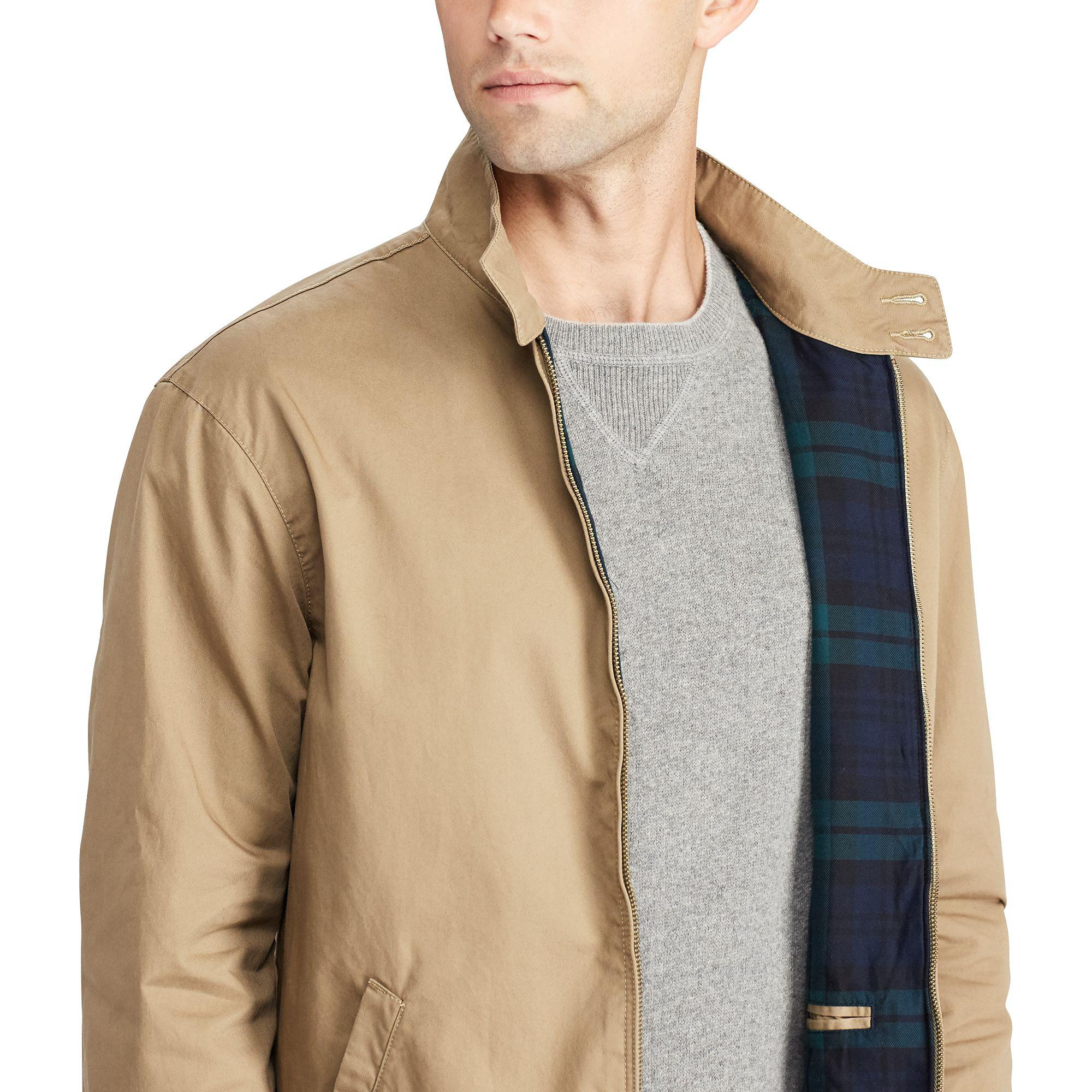 Natural For Men Ralph Polo Twill Lauren Jacket Cotton E29YWHID