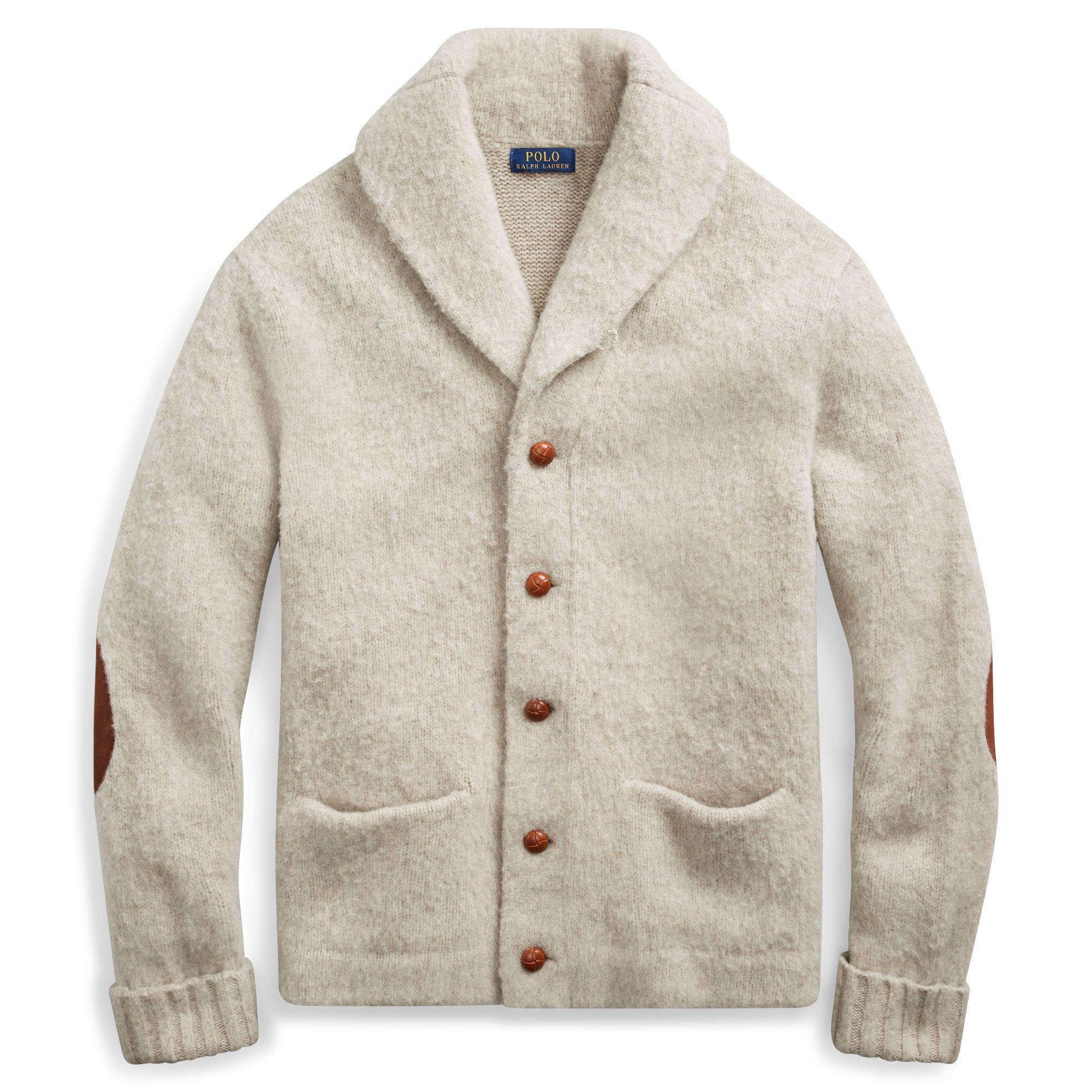 89da1fa7ed Polo Ralph Lauren Multicolor Merino Wool Shawl Cardigan for men