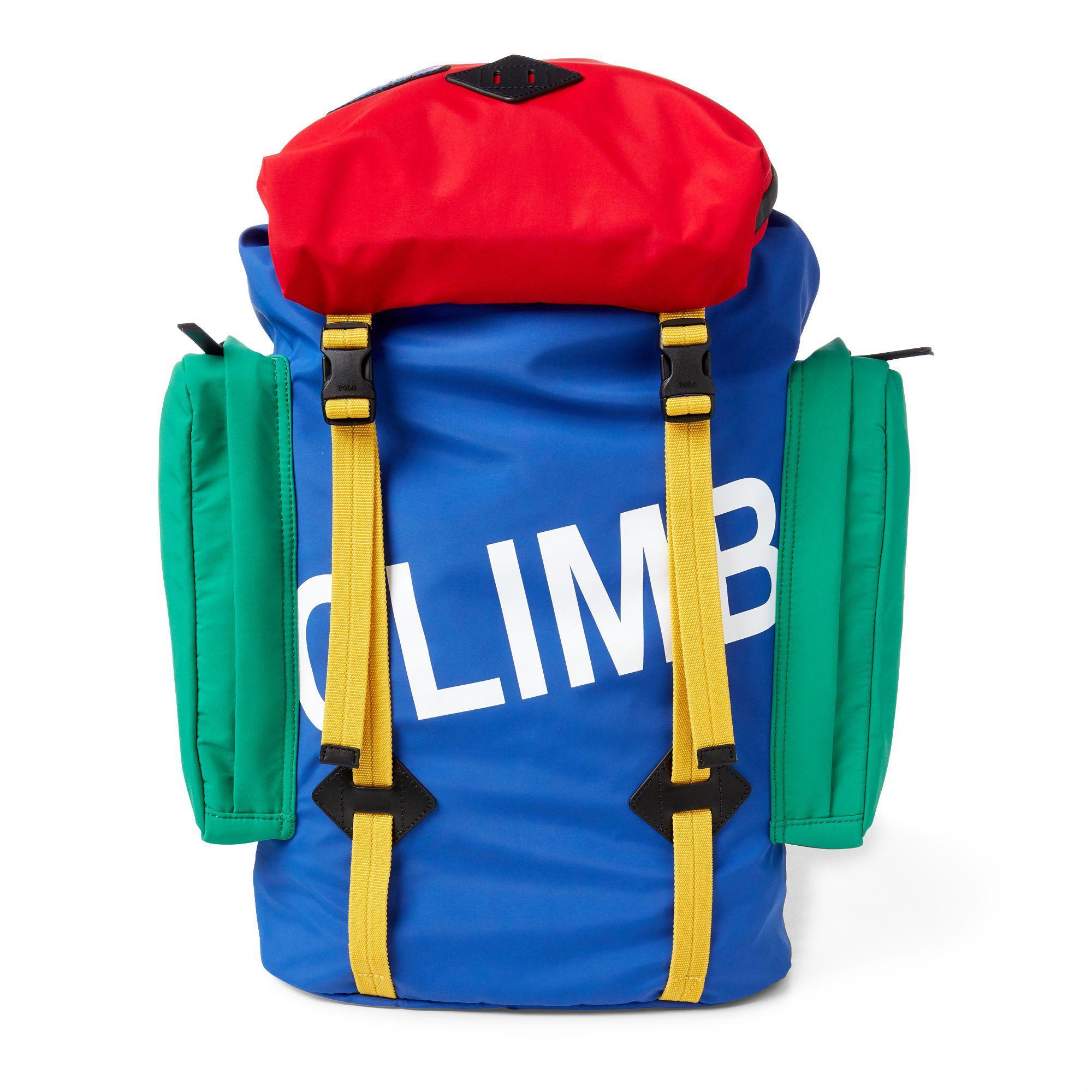 7fb945dc7cdc Polo Ralph Lauren Hi Tech Backpack in Blue for Men - Lyst