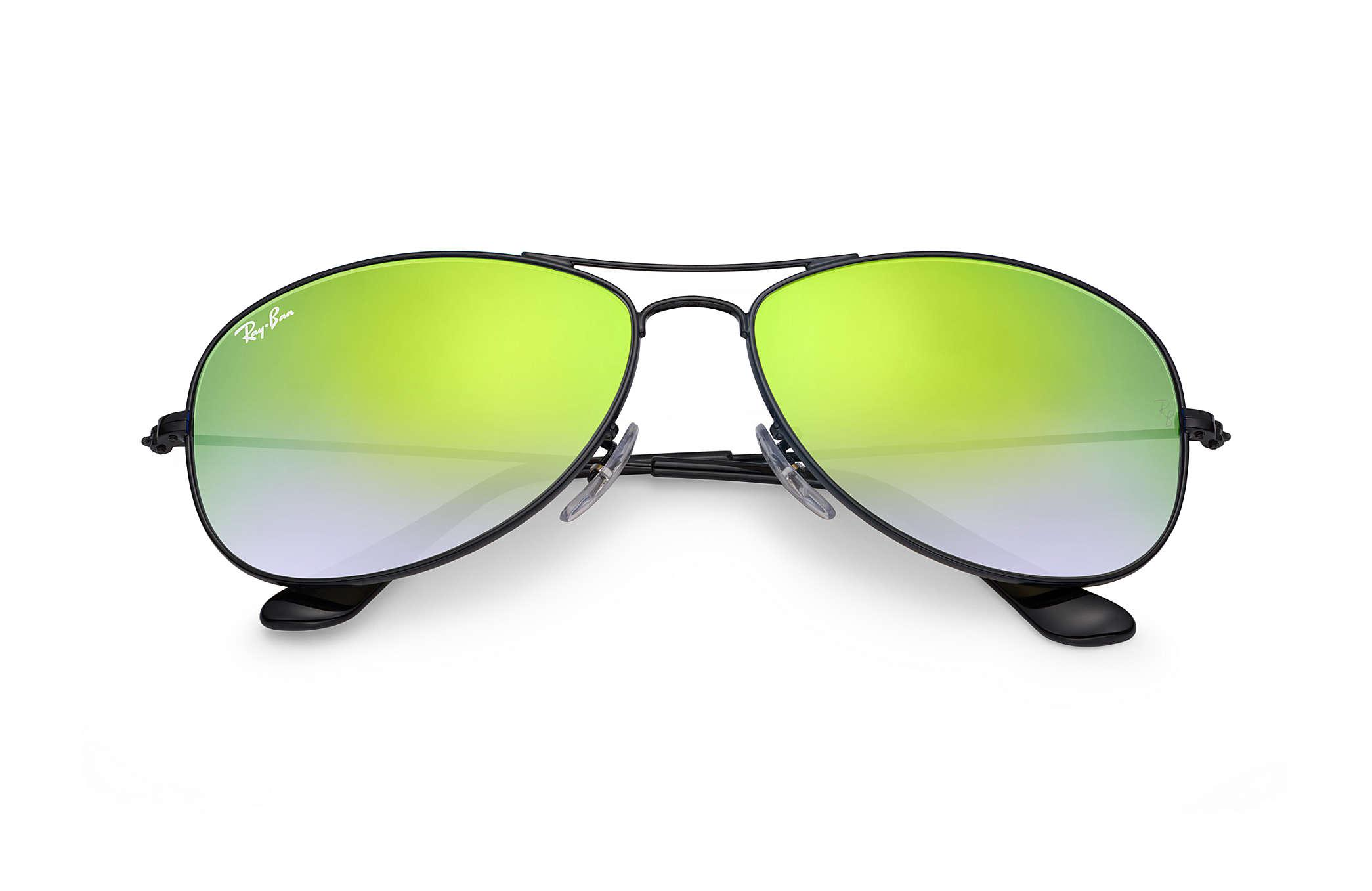 127eee13a2 Ray-Ban - Green Cockpit Flash Lenses Gradient for Men - Lyst. View  fullscreen