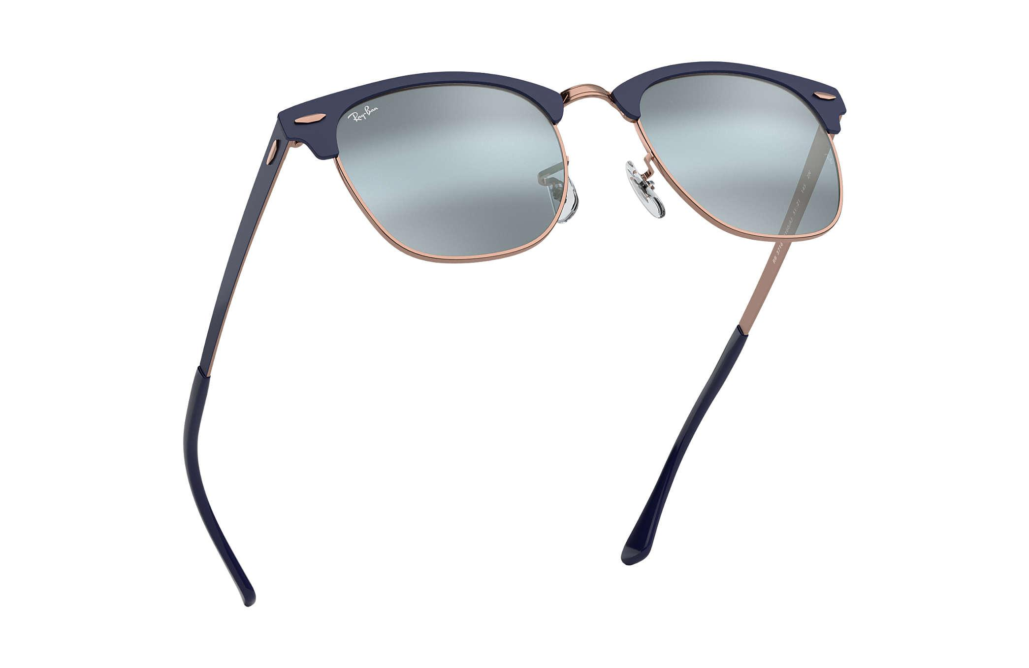 ray ban clubmaster metal blue
