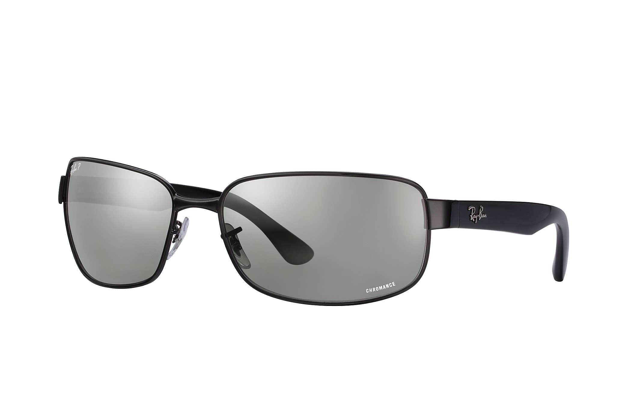 8b0b28b94b4 Ray-Ban Rb3566 Chromance in Black for Men - Lyst
