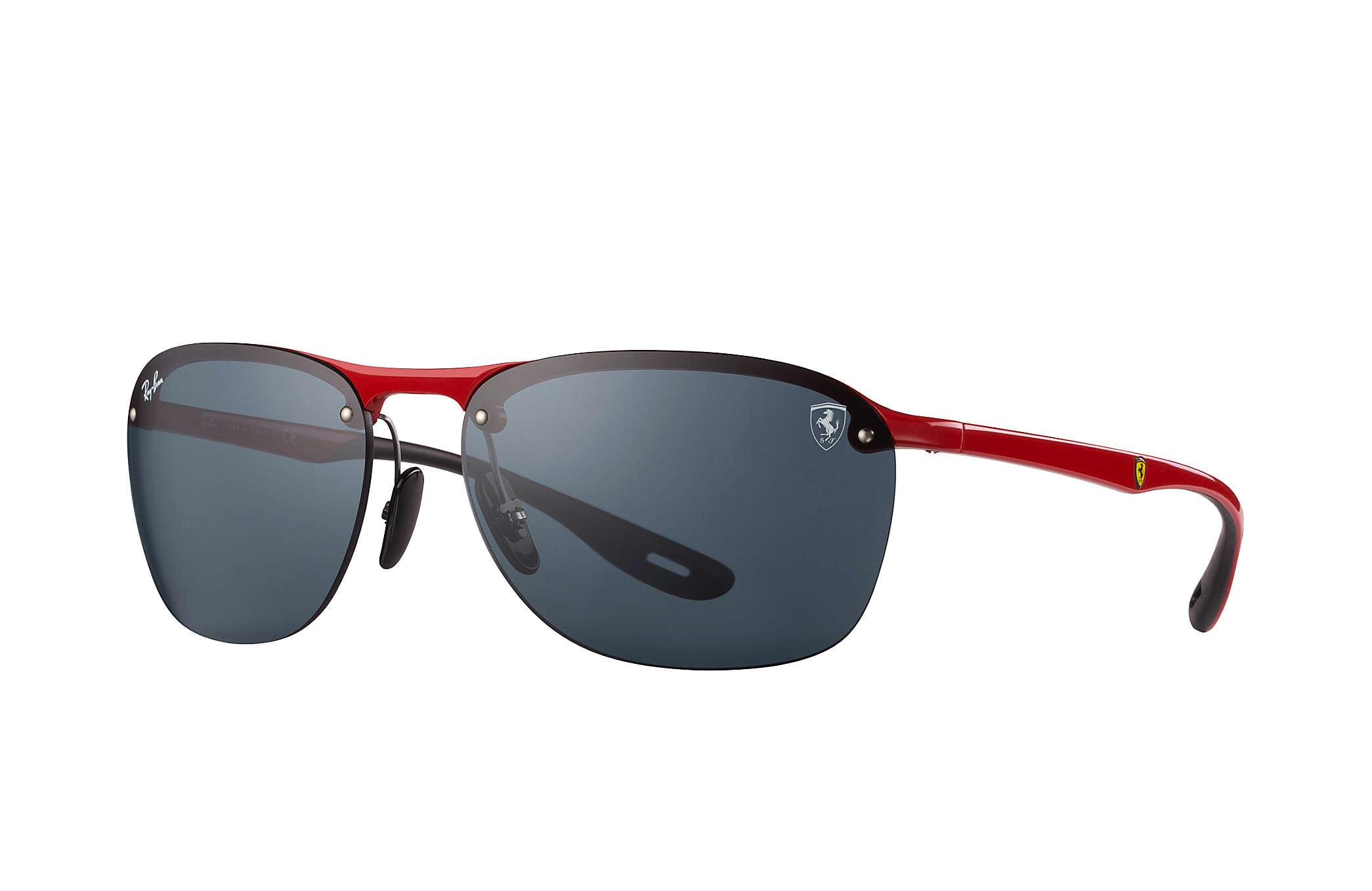 Lyst Ray Ban Rb4302m Scuderia Ferrari Collection For Men