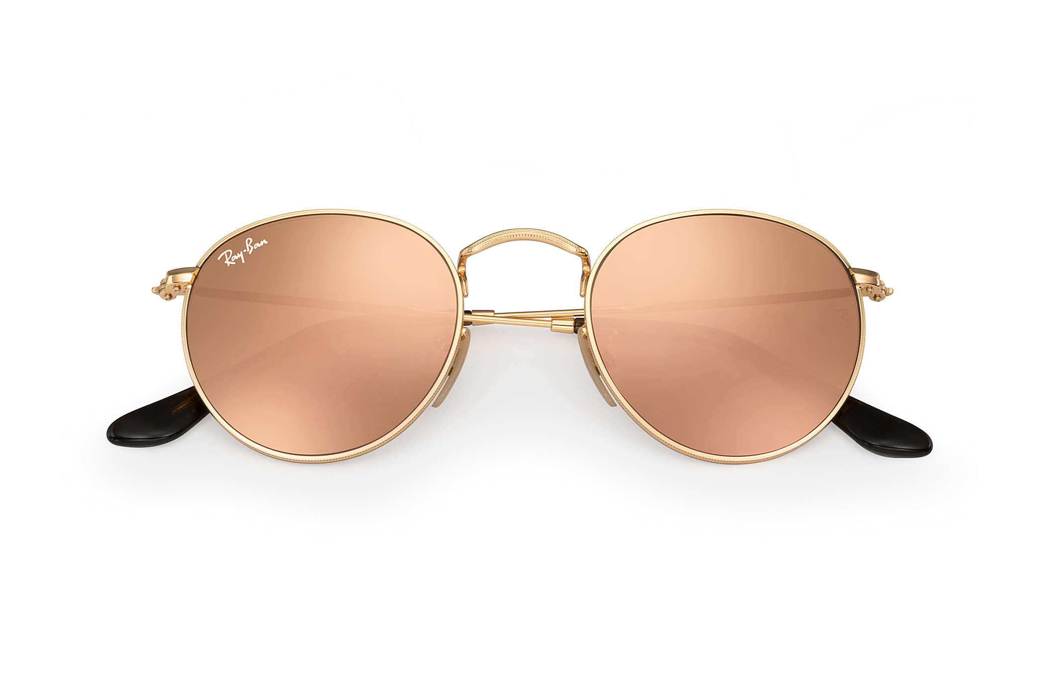 33074aceed3 Ray-Ban - Multicolor Round Flat Lenses - Lyst. View fullscreen